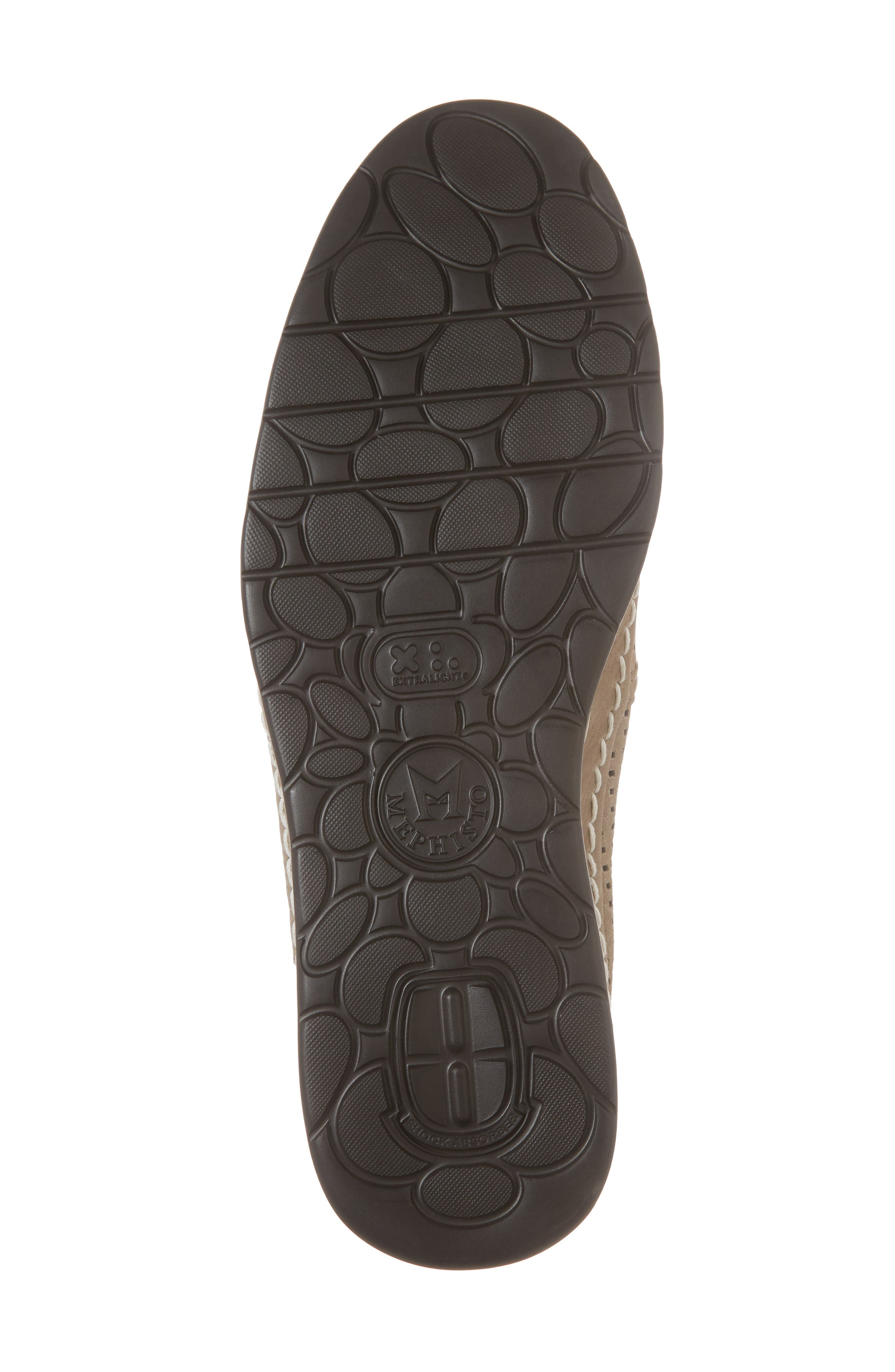 Hadrian Perforated Slip-On,                             Alternate thumbnail 6, color,                             SAND