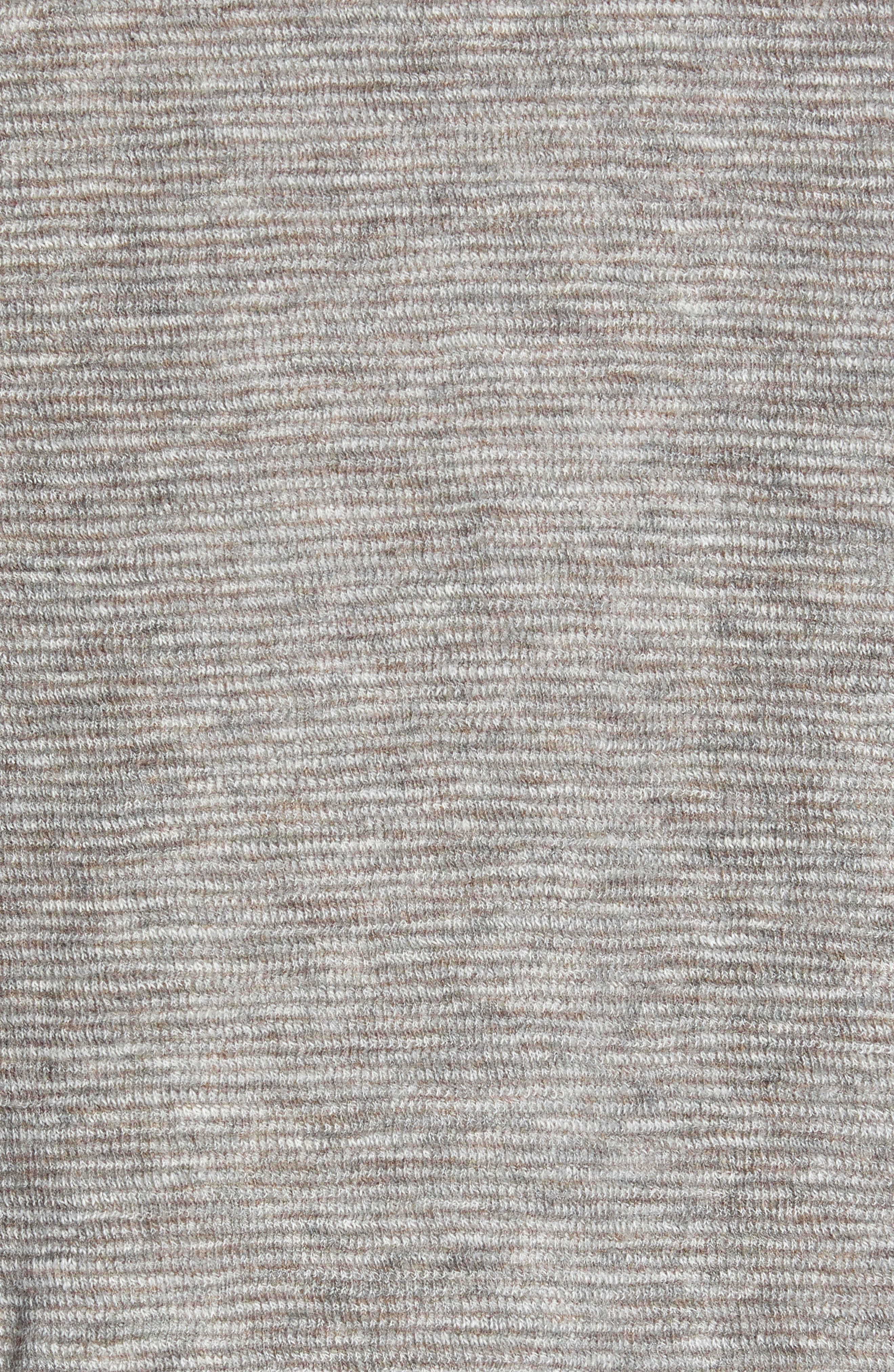 Fortuna Flip Regular Fit Shirt,                             Alternate thumbnail 6, color,                             TAUPE HEATHER