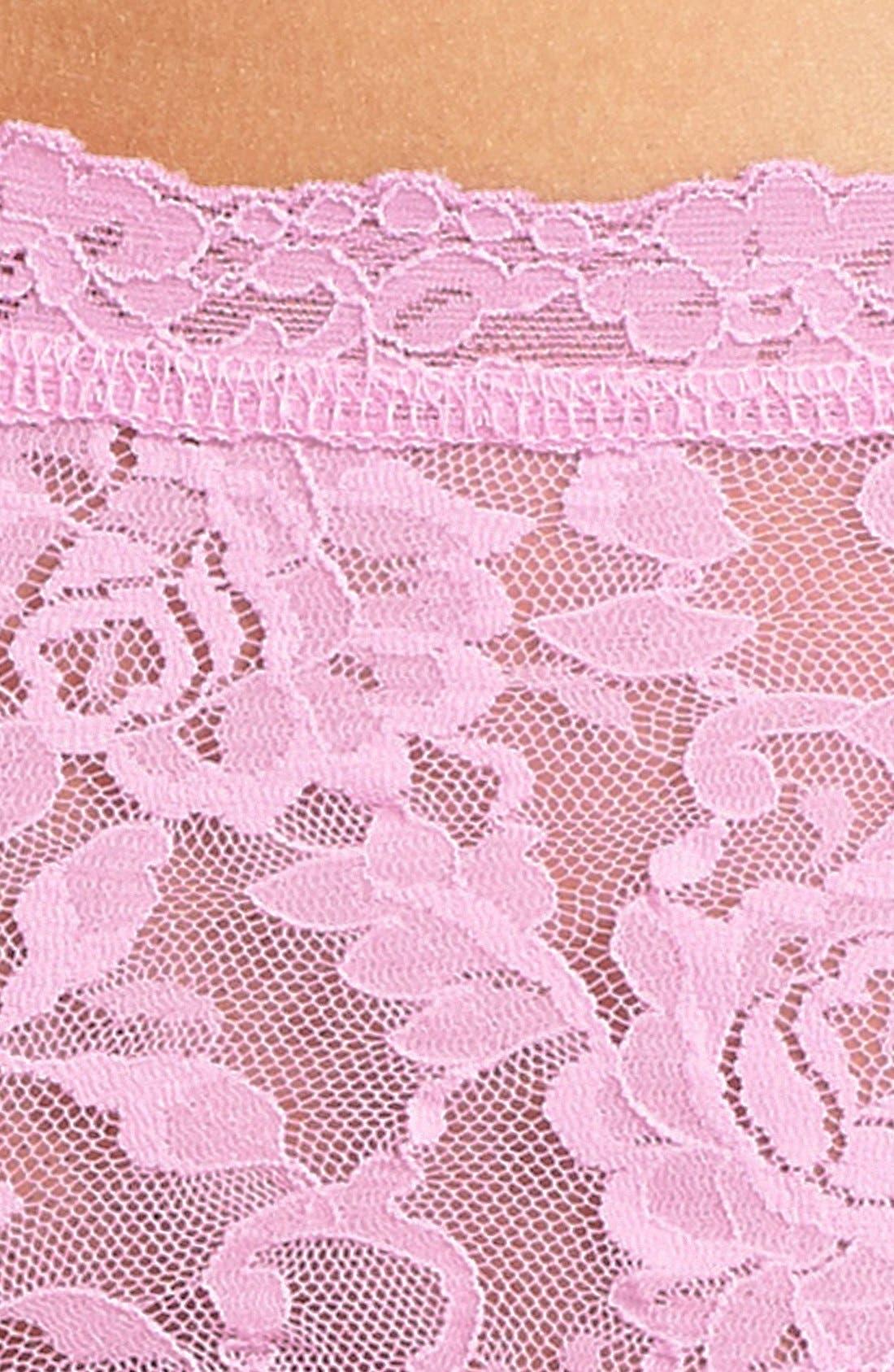 'Signature Lace' Boyshorts,                             Alternate thumbnail 326, color,
