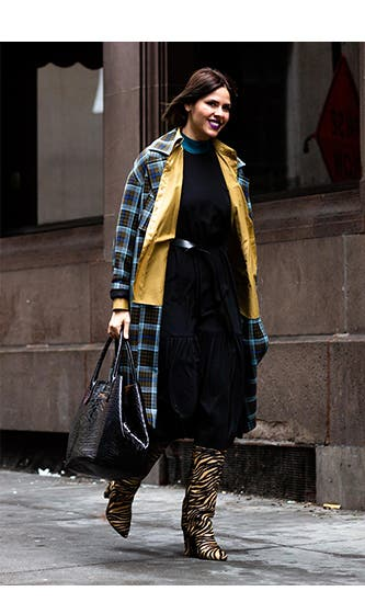 Spotted at FW20 New York Fashion Week: plaid.