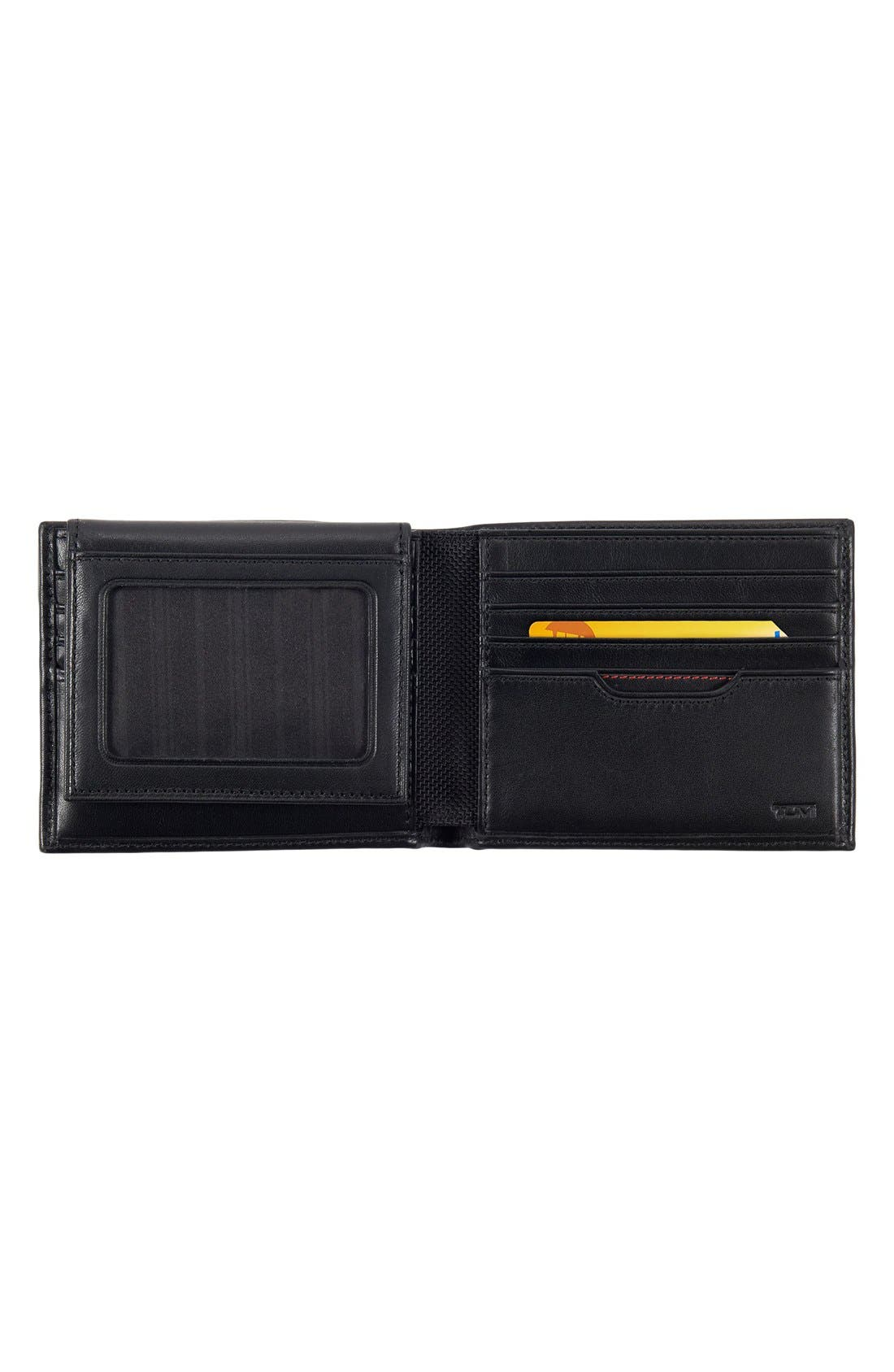 Delta Global - ID Lock<sup>™</sup> Shielded Removable Passcase ID Wallet,                             Alternate thumbnail 4, color,                             BLACK