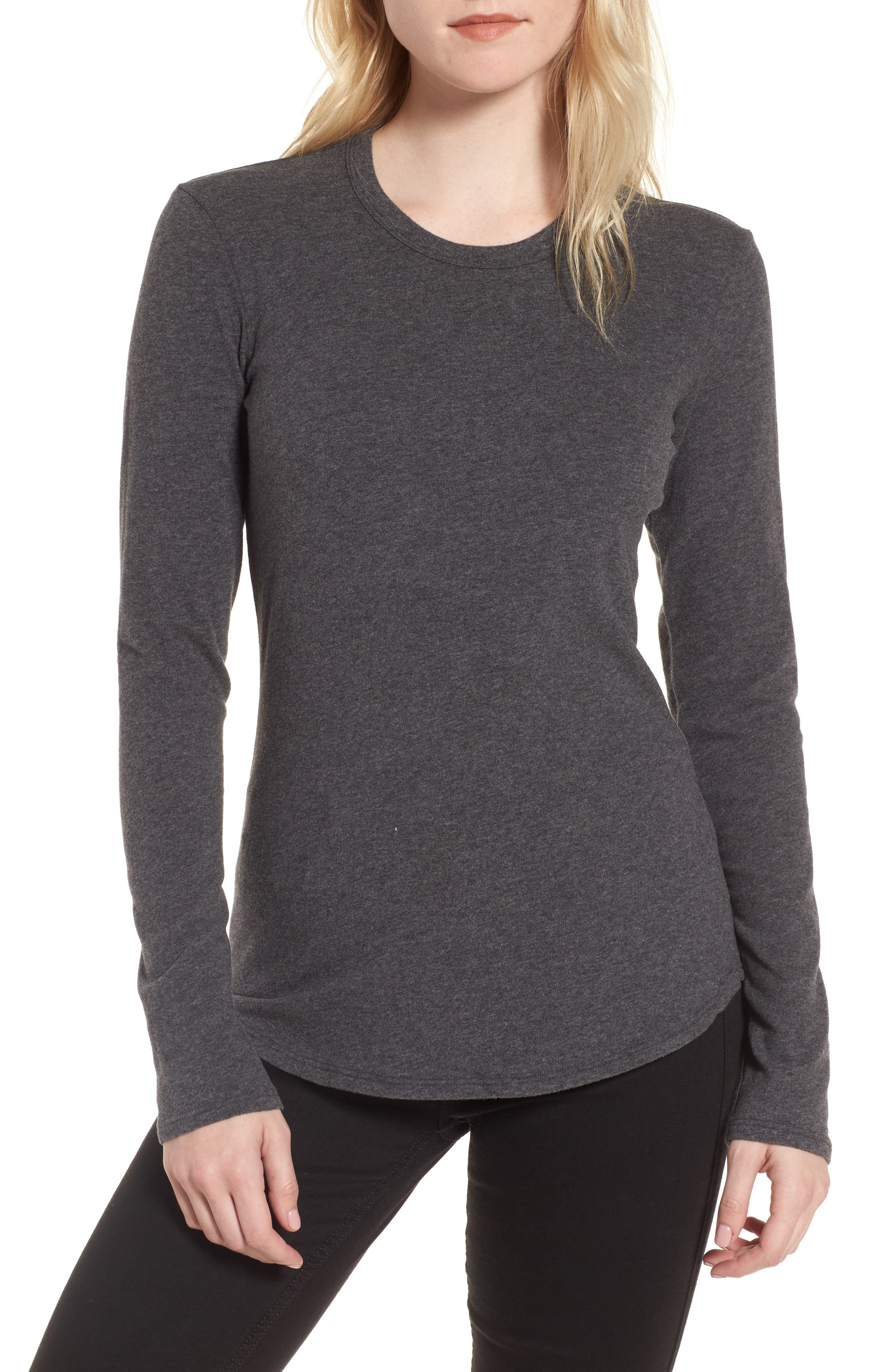 Brushed Jersey Tee,                         Main,                         color, 069