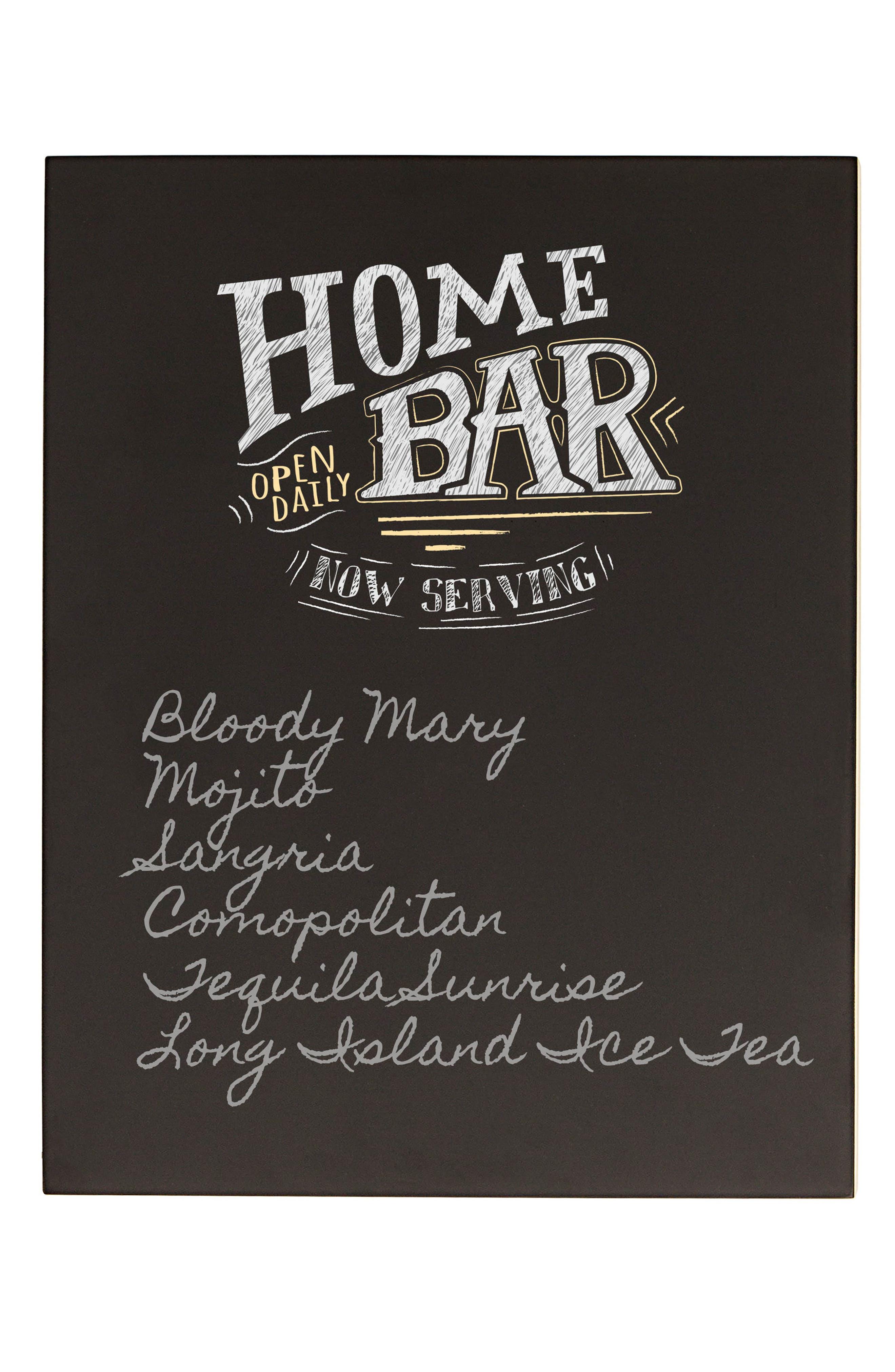 Bar Menu Chalkboard,                             Alternate thumbnail 2, color,                             001