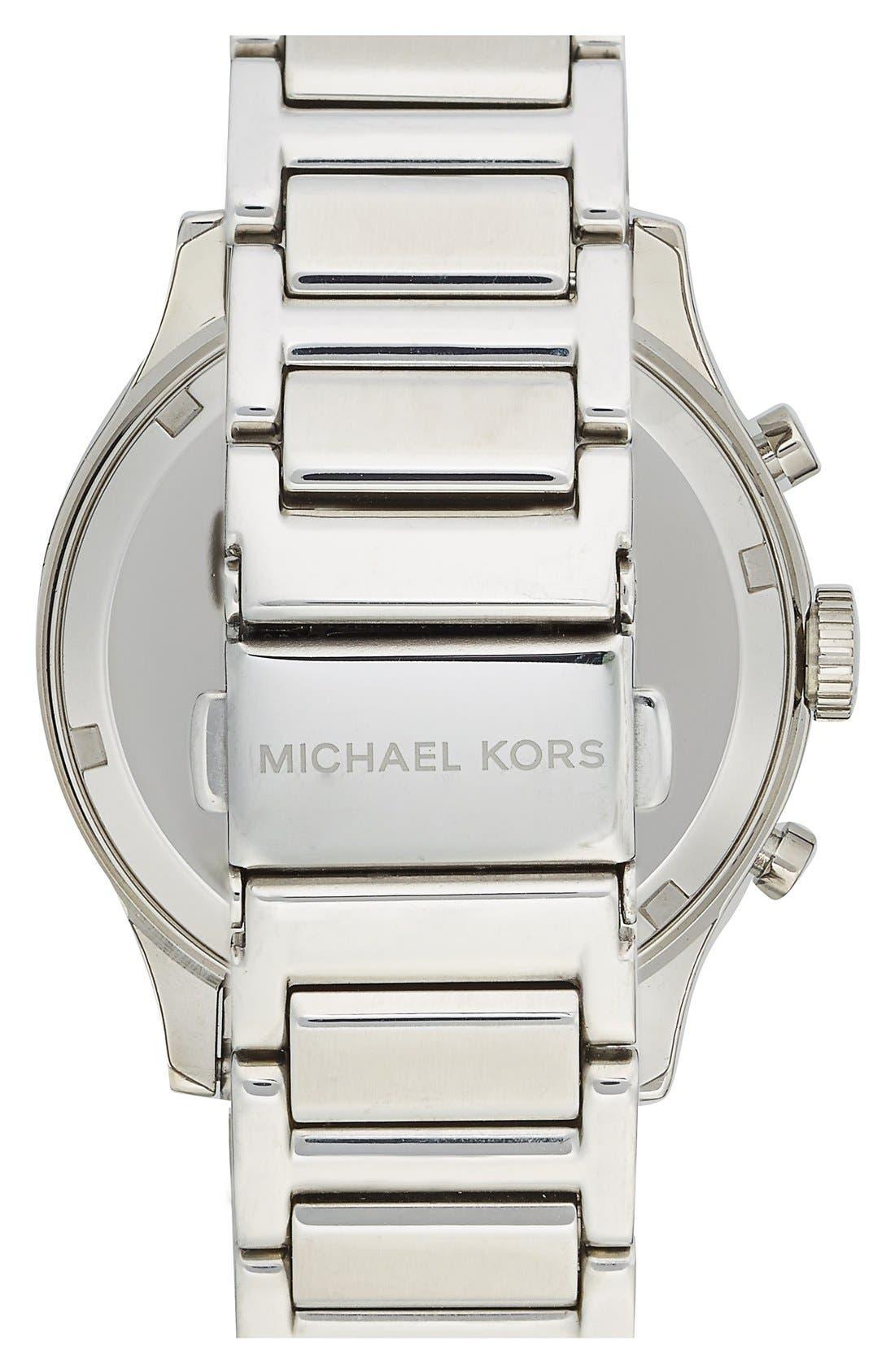 Michael Kors 'Bailey' Chronograph Bracelet Watch, 39mm,                             Alternate thumbnail 5, color,                             040