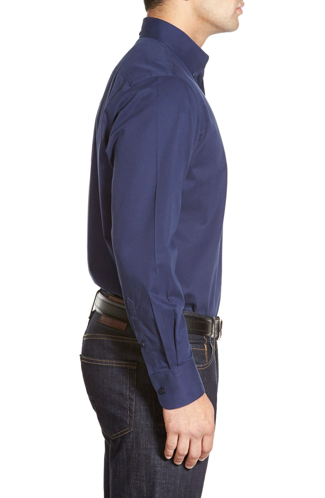 Smartcare<sup>™</sup> Traditional Fit Twill Boat Shirt,                             Alternate thumbnail 92, color,