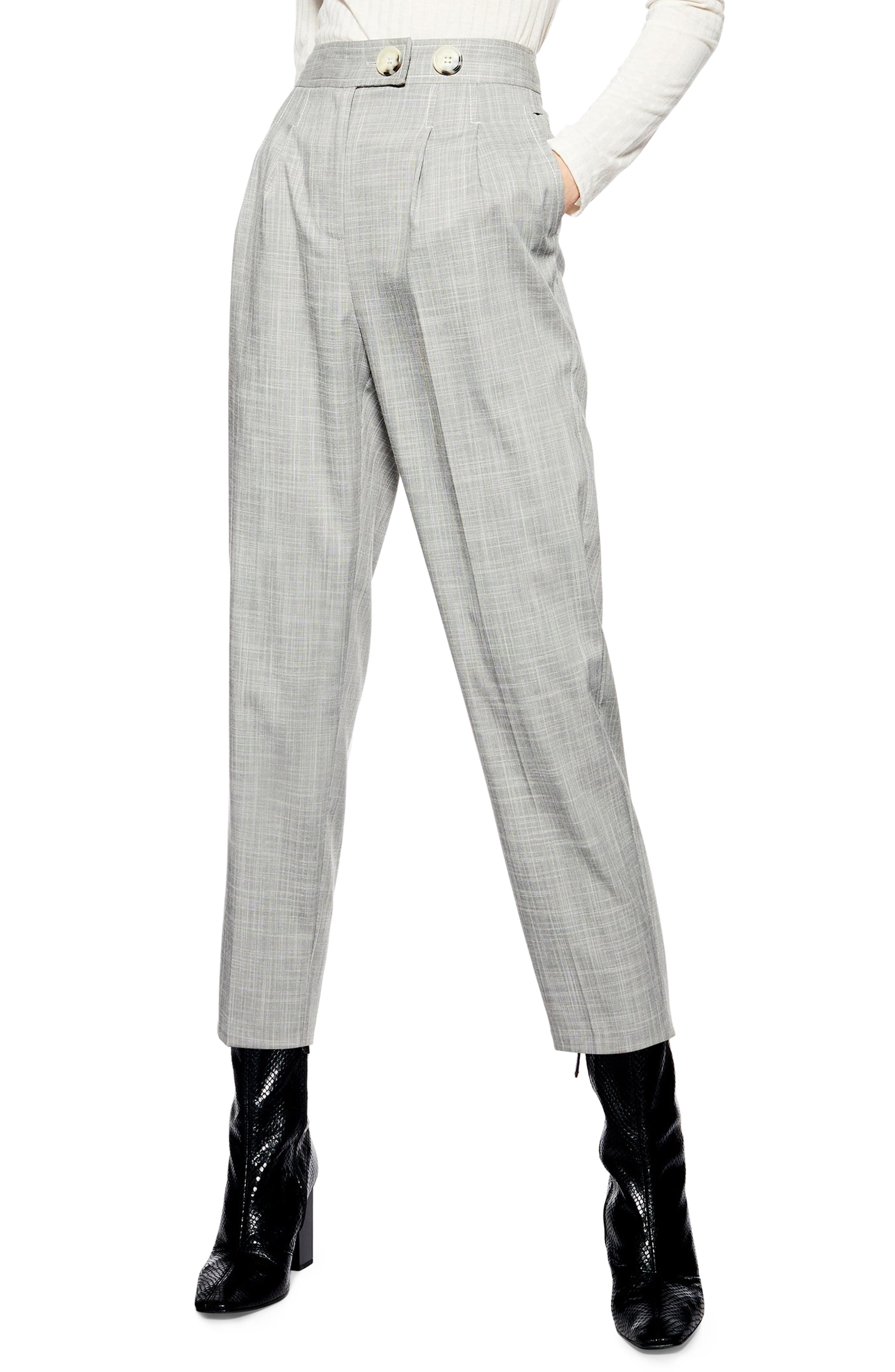 Tonic Tapered Trousers, Main, color, GREY