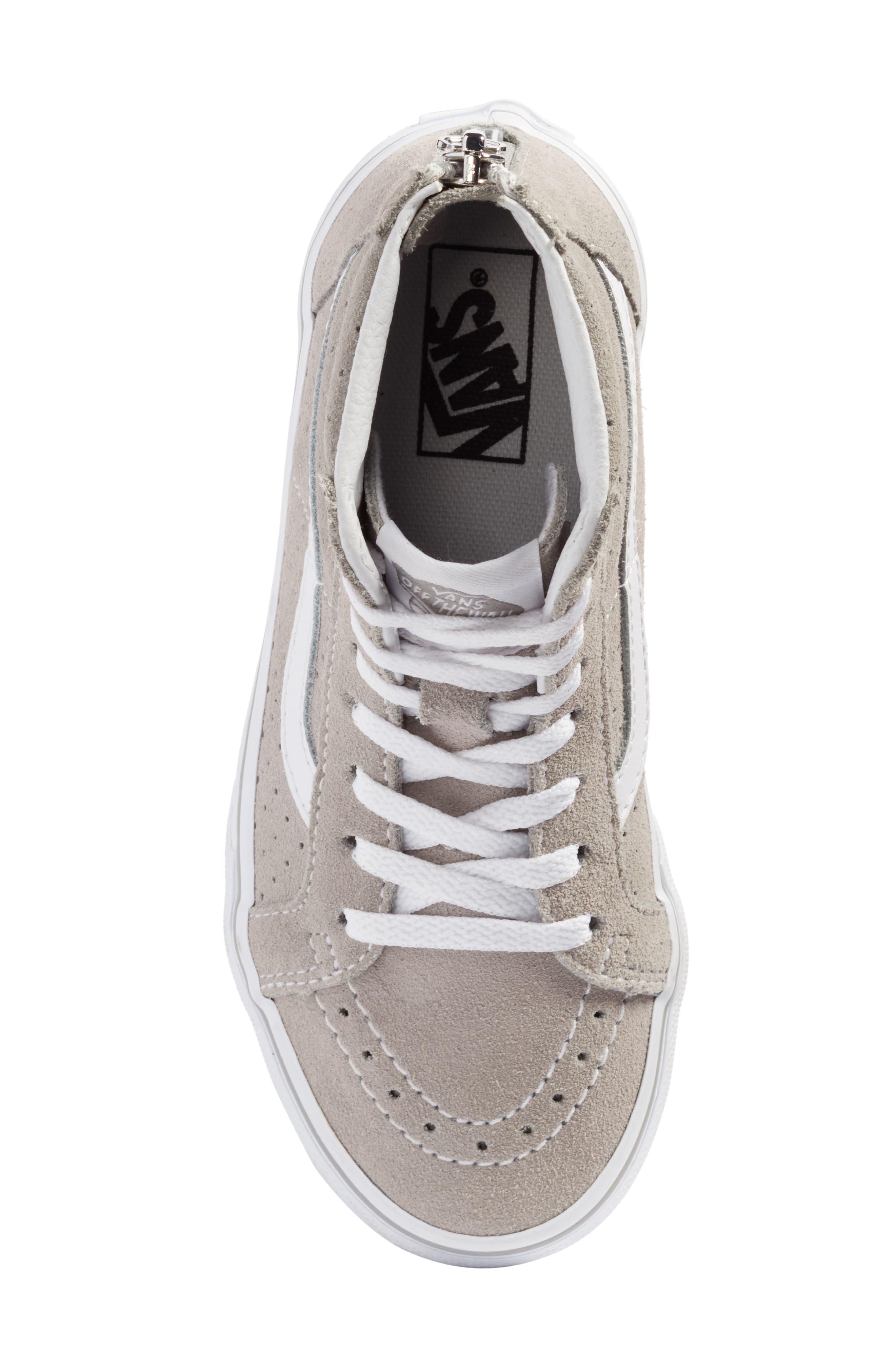 Sk8-Hi Zip Sneaker,                             Alternate thumbnail 5, color,                             050