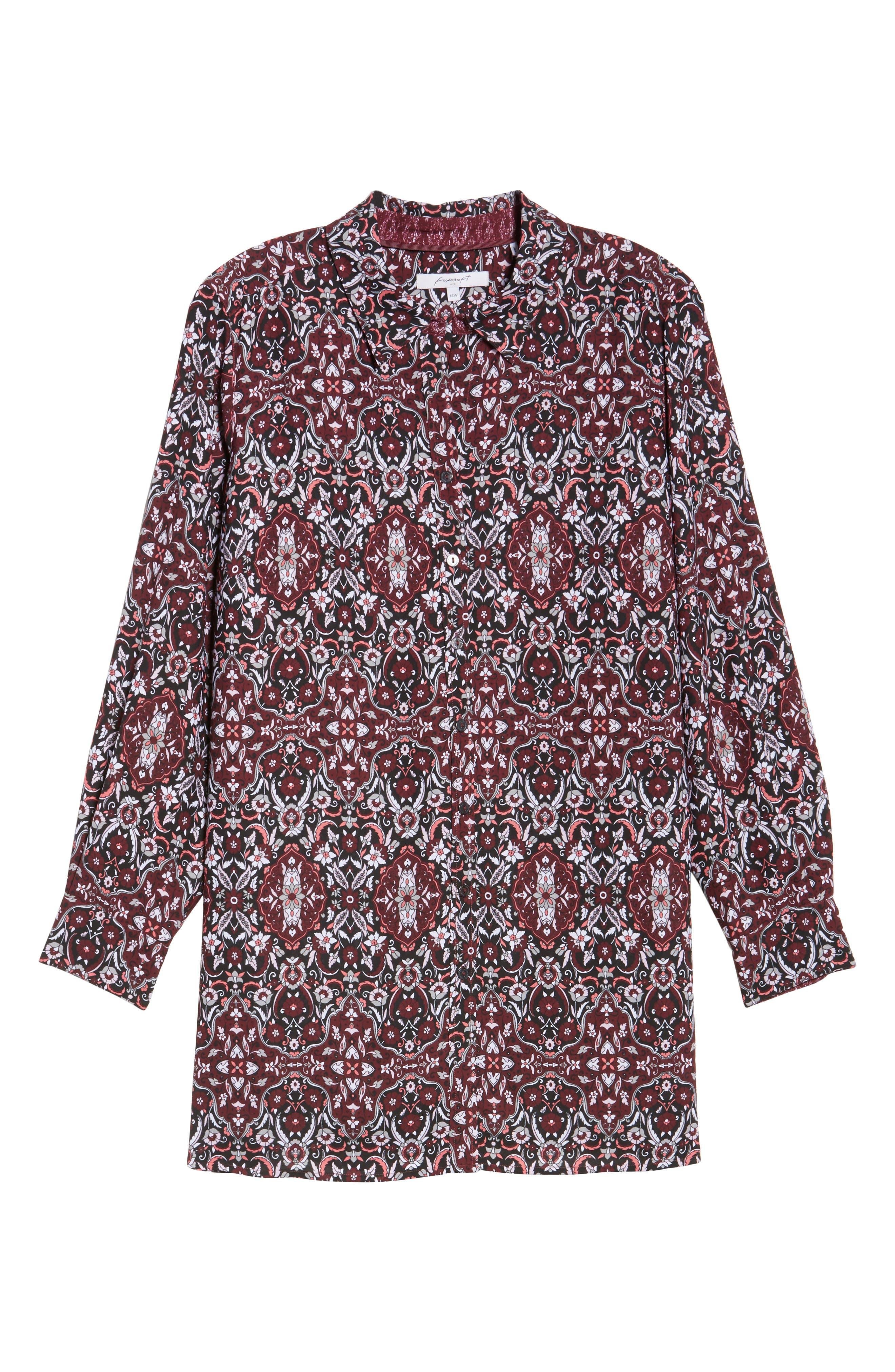 Jade Heirloom Paisley Shirt,                             Alternate thumbnail 6, color,                             602