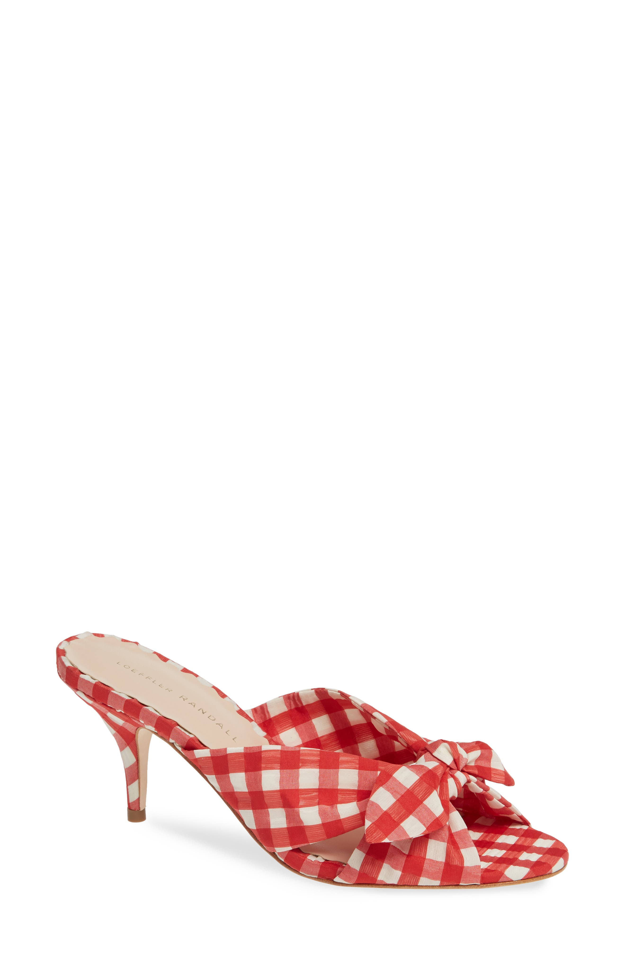 LOEFFLER RANDALL Luisa Sandal, Main, color, RED