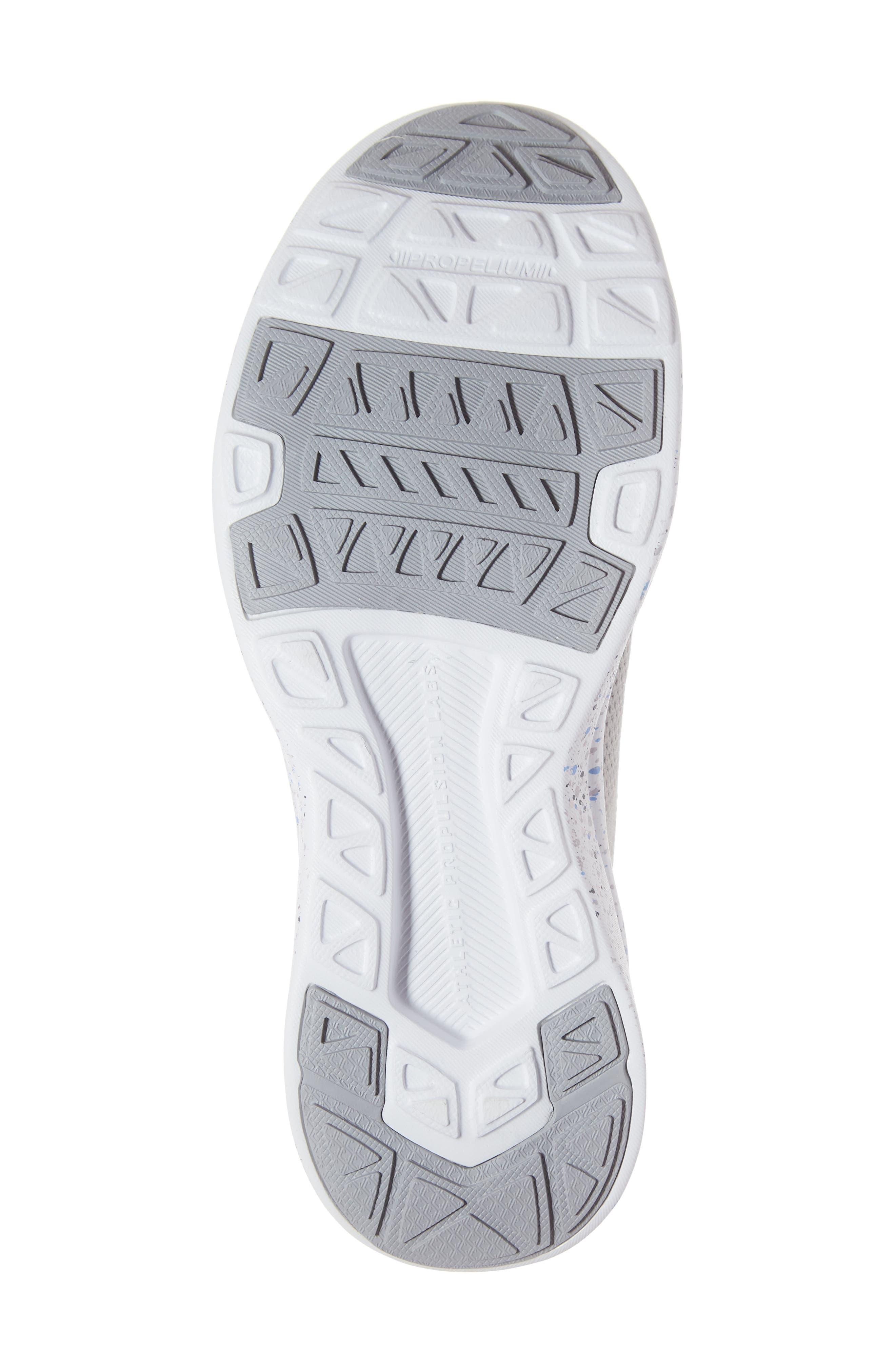 APL,                             Techloom Breeze Knit Running Shoe,                             Alternate thumbnail 6, color,                             CEMENT/ MULTI SPECKLE