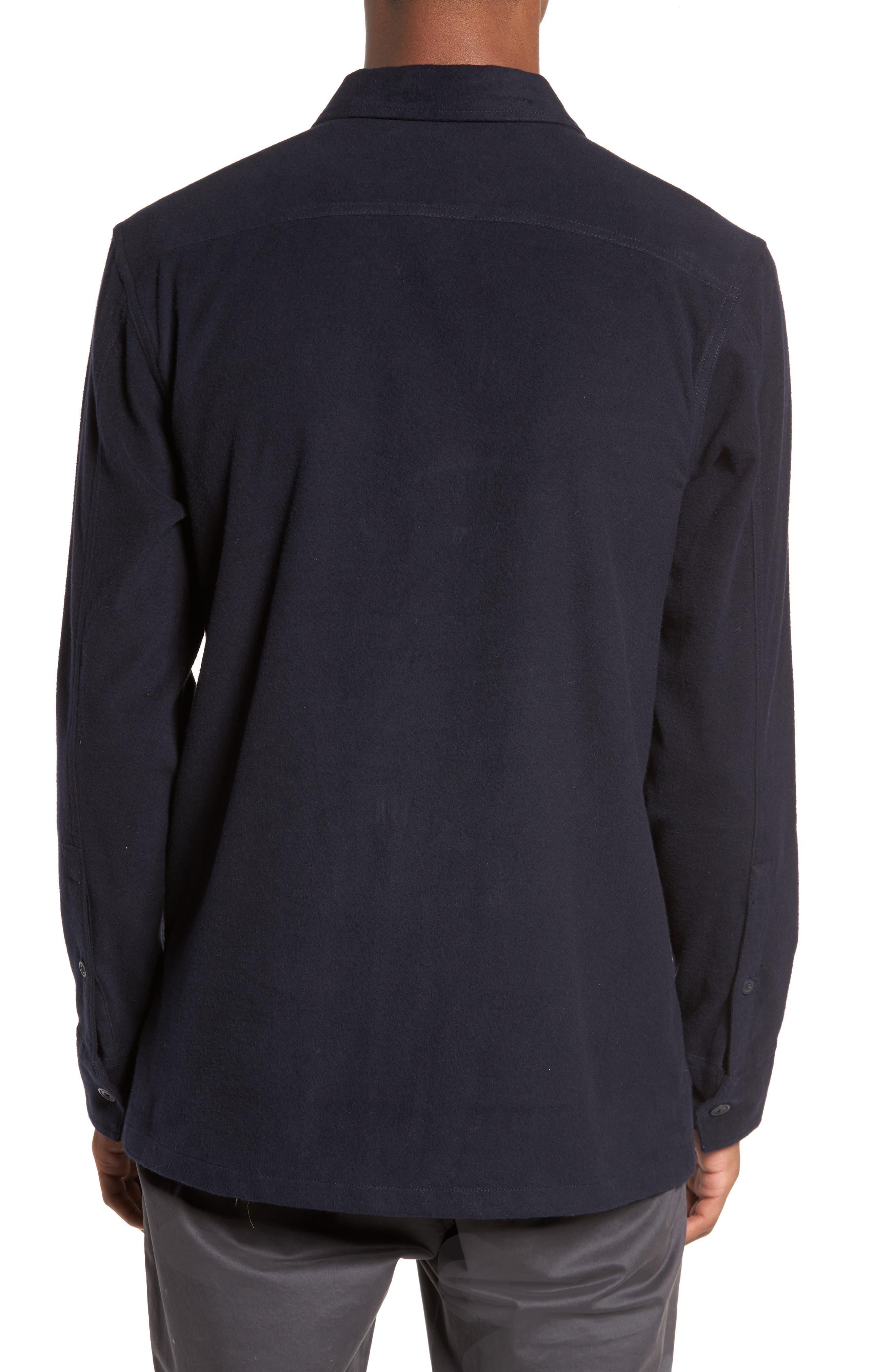 Flannel Shirt Jacket,                             Alternate thumbnail 2, color,