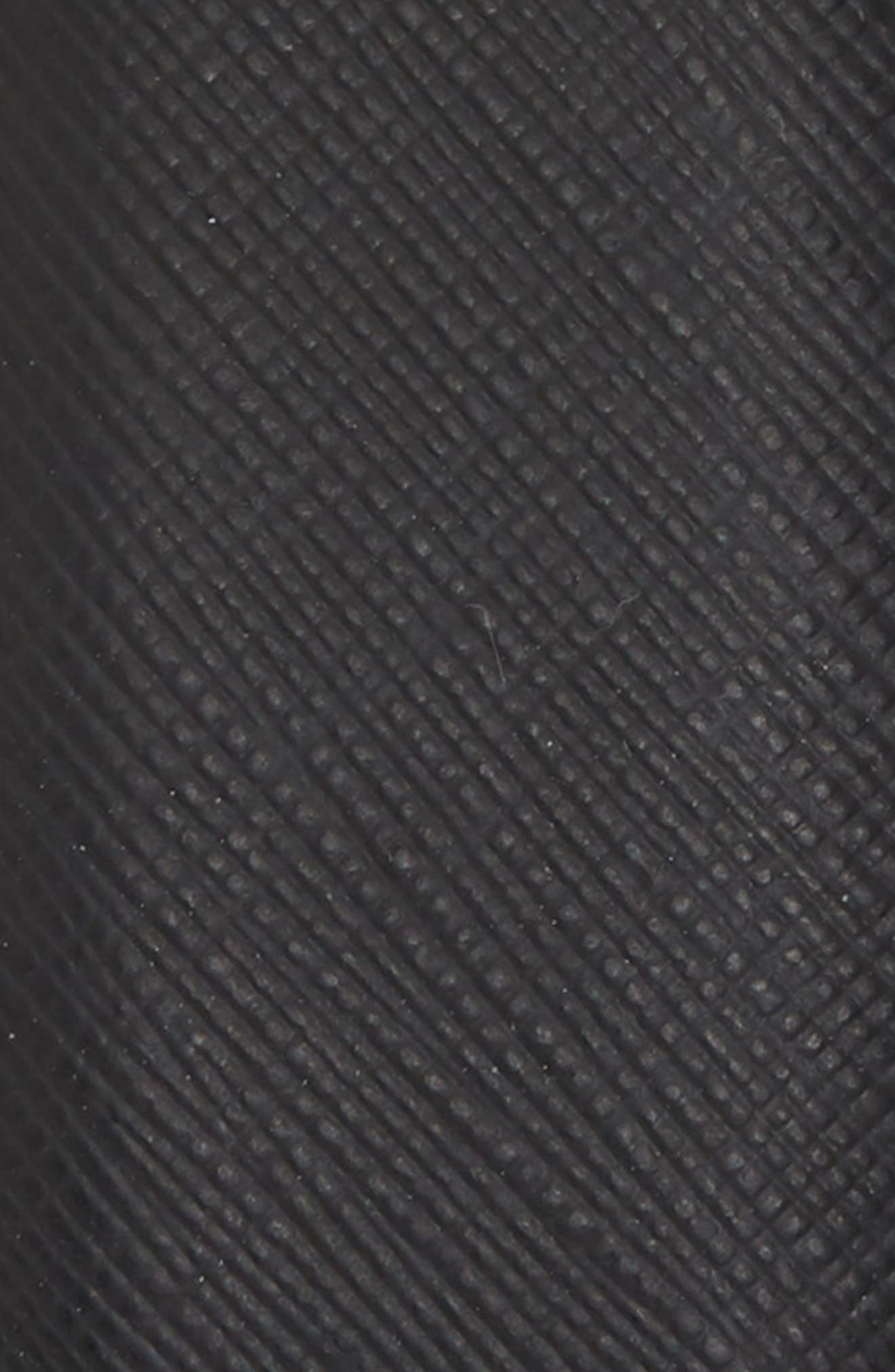 Saffiano Leather Belt,                             Alternate thumbnail 2, color,                             SAFFIANO BLACK
