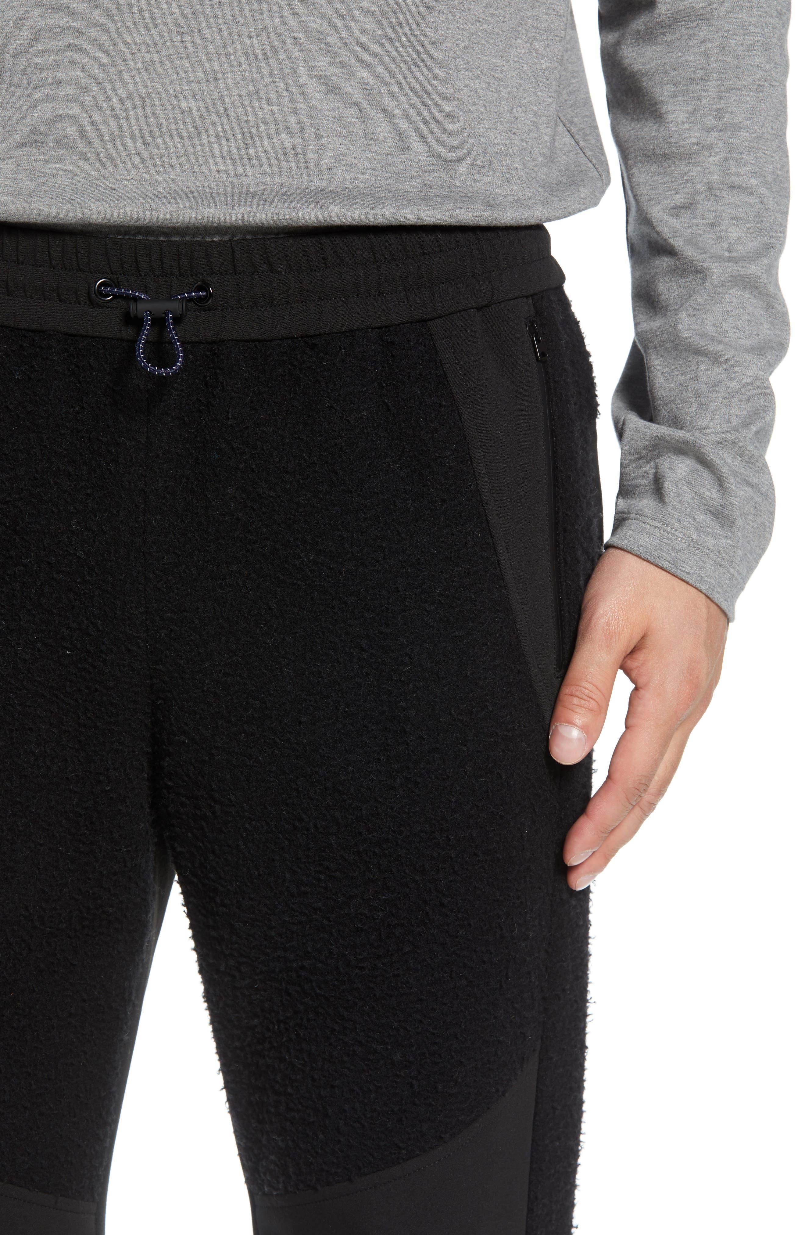 Tech Jogger Pants,                             Alternate thumbnail 4, color,                             BLACK