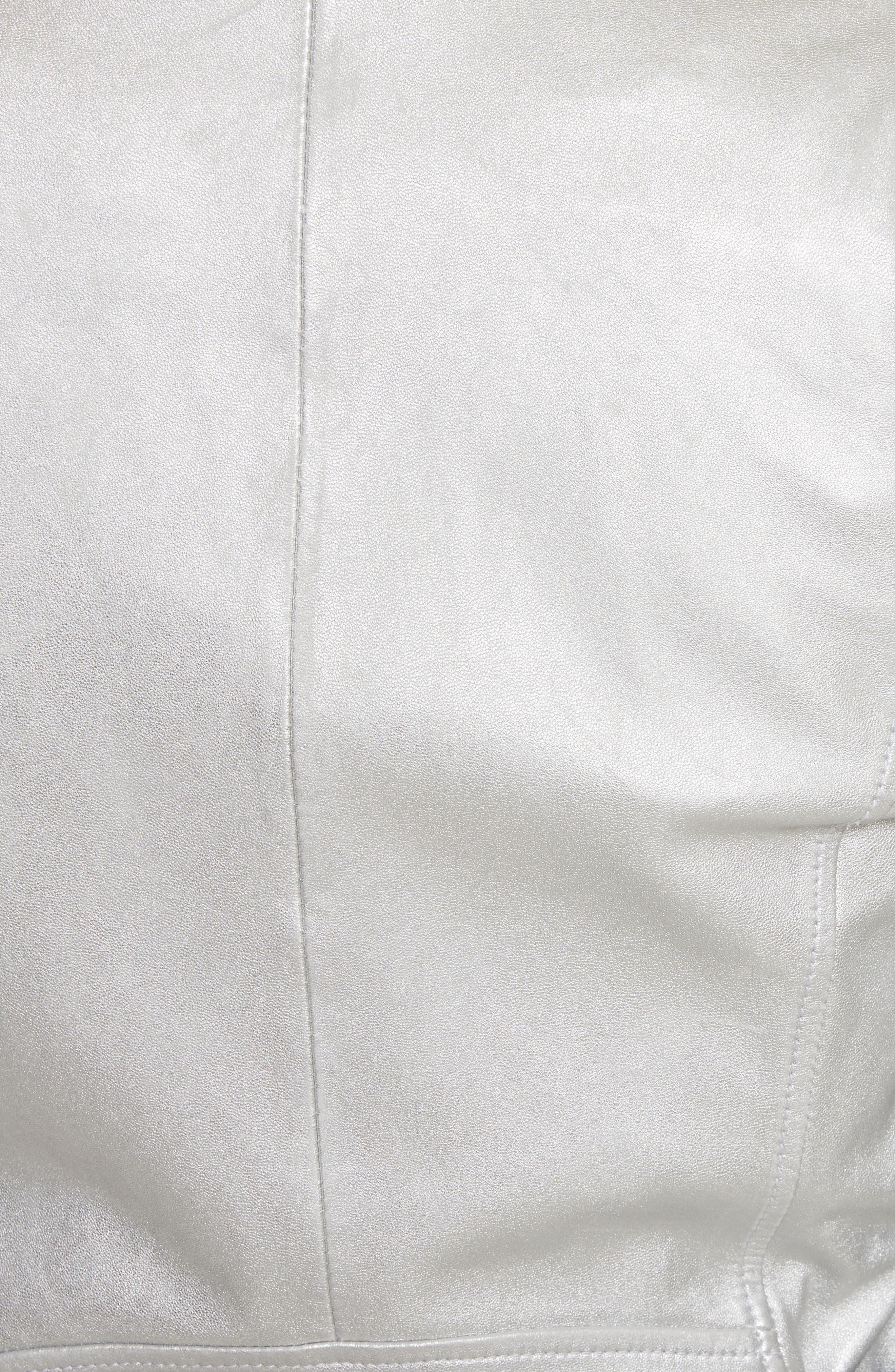 Leolani Leather Jacket,                             Alternate thumbnail 11, color,