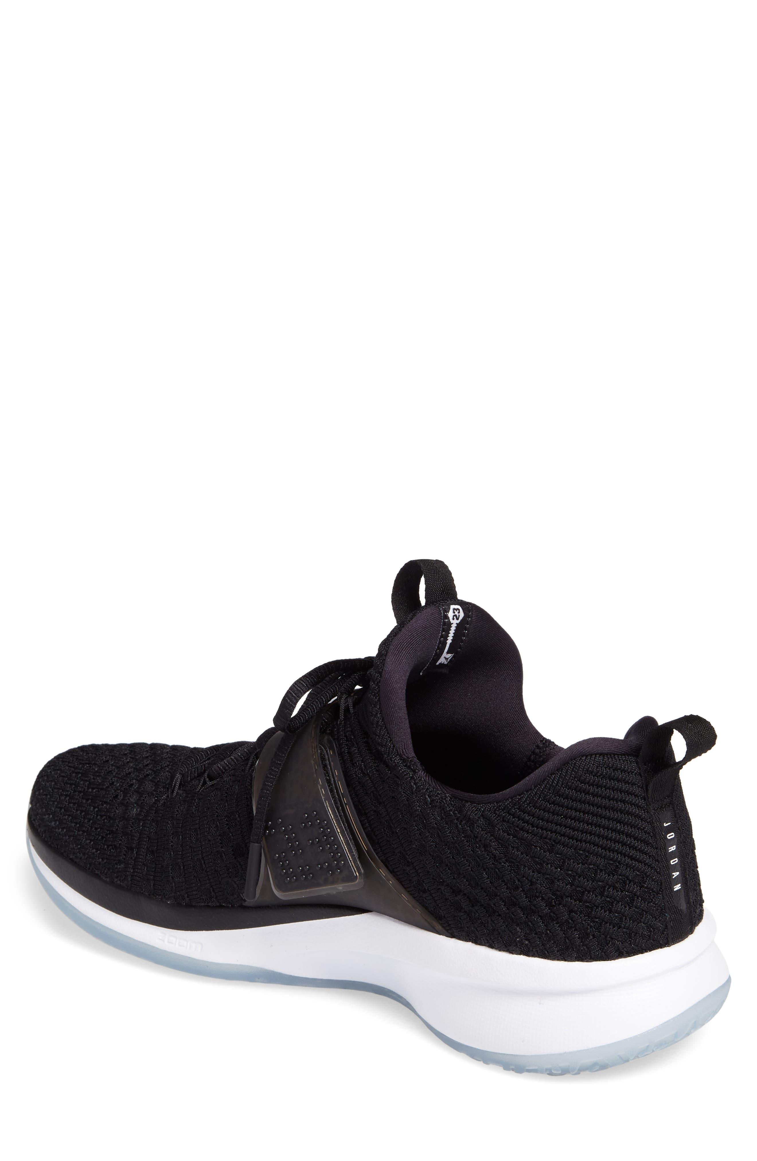 Jordan Flyknit Trainer 2 Low Sneaker,                             Alternate thumbnail 6, color,