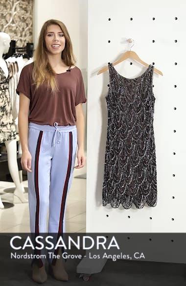 Beaded Lace Sheath Dress, sales video thumbnail