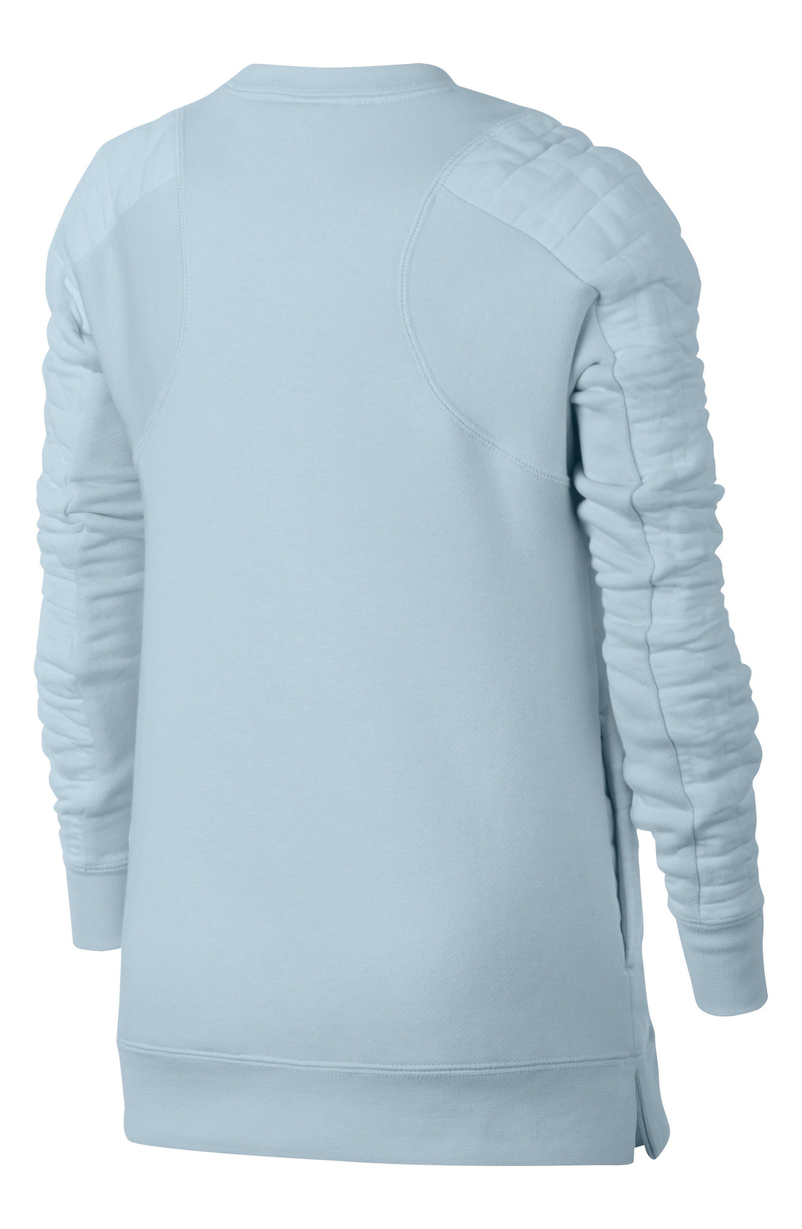 Modern Matelassé Sweatshirt,                             Main thumbnail 3, color,