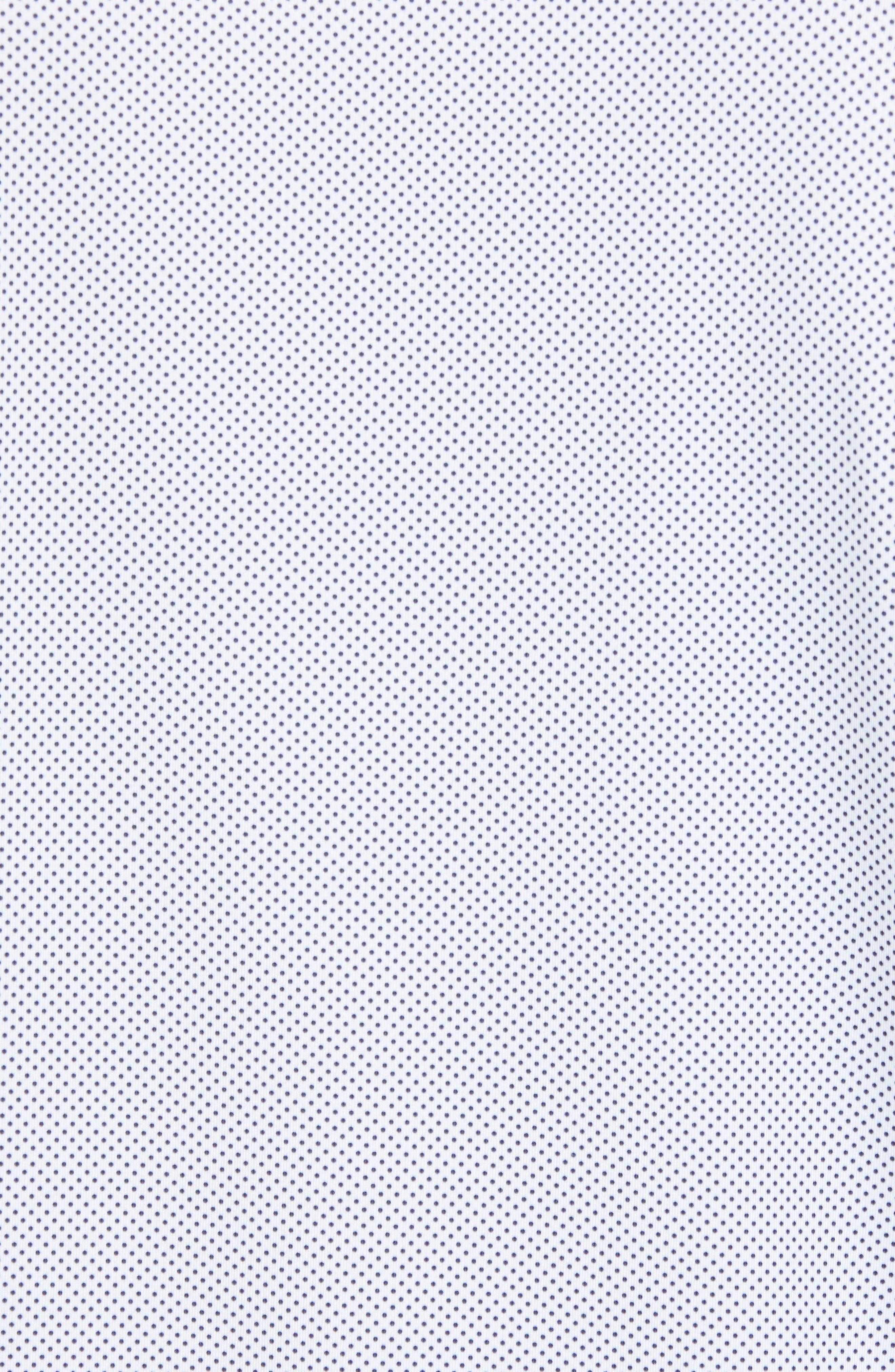 CUTTER & BUCK,                             Harbor Print DryTec Moisture Wicking Polo,                             Alternate thumbnail 5, color,                             100