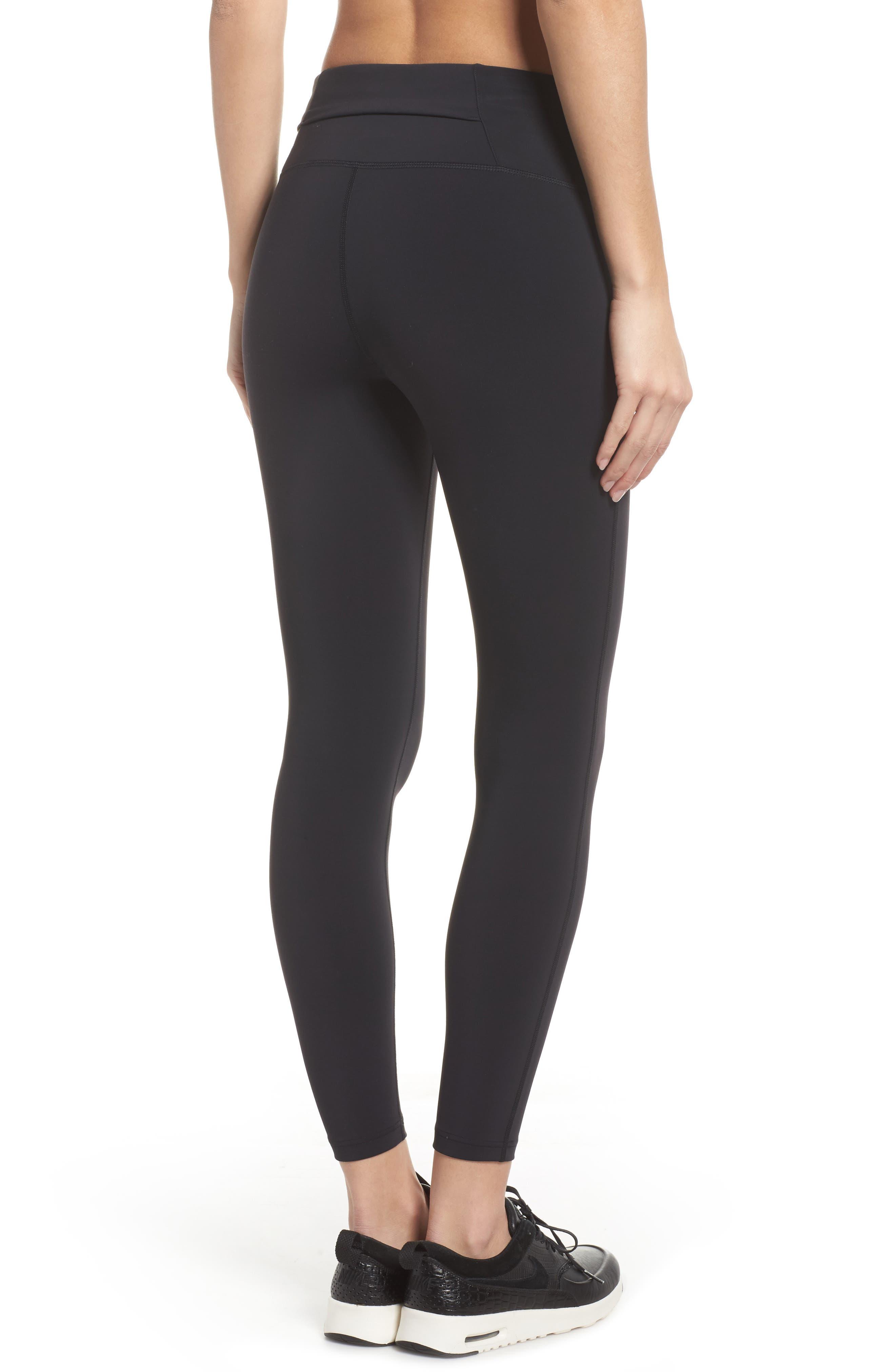 NikeLab Women's Tights,                             Alternate thumbnail 2, color,                             BLACK/ BLACK