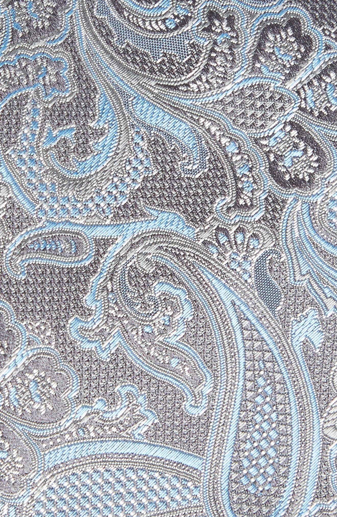 CANALI,                             Paisley Silk Tie,                             Alternate thumbnail 2, color,                             030