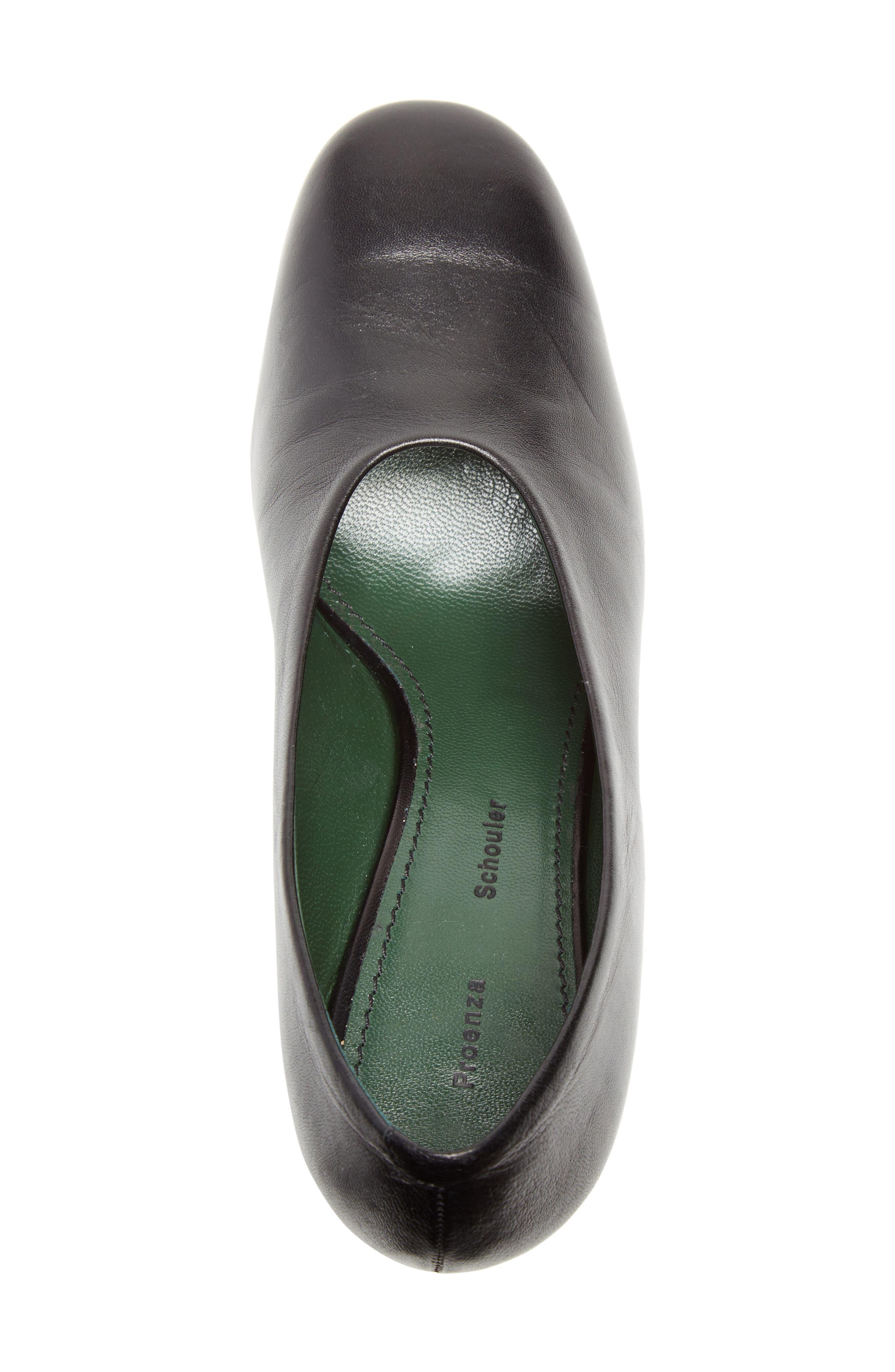 Mirrored Heel Pump,                             Alternate thumbnail 4, color,                             001