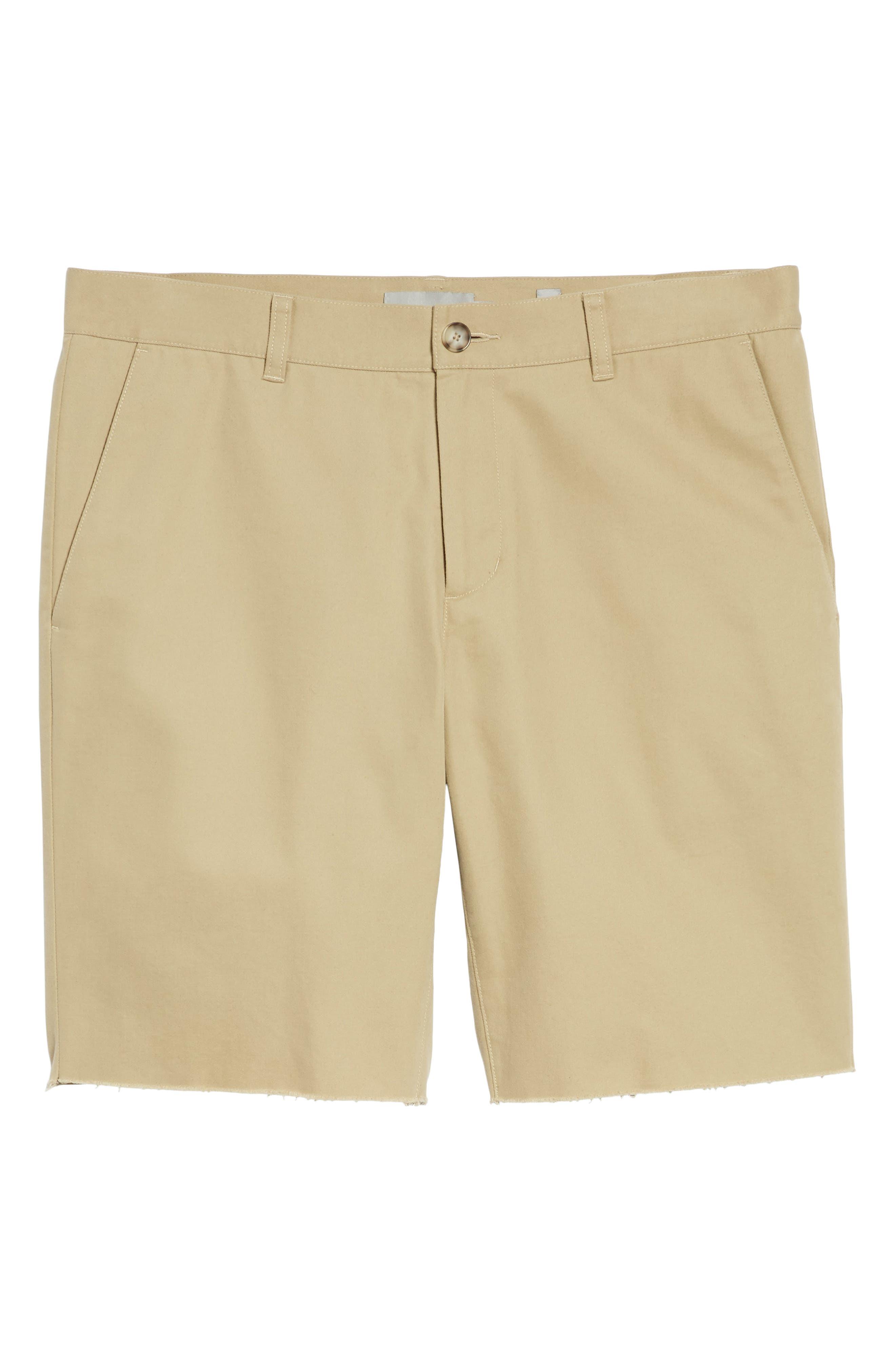 Slim Fit Chino Shorts,                             Alternate thumbnail 6, color,                             250