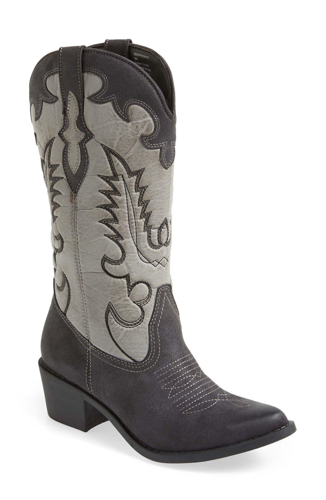 'Desperado' Western Boot,                         Main,                         color, 067