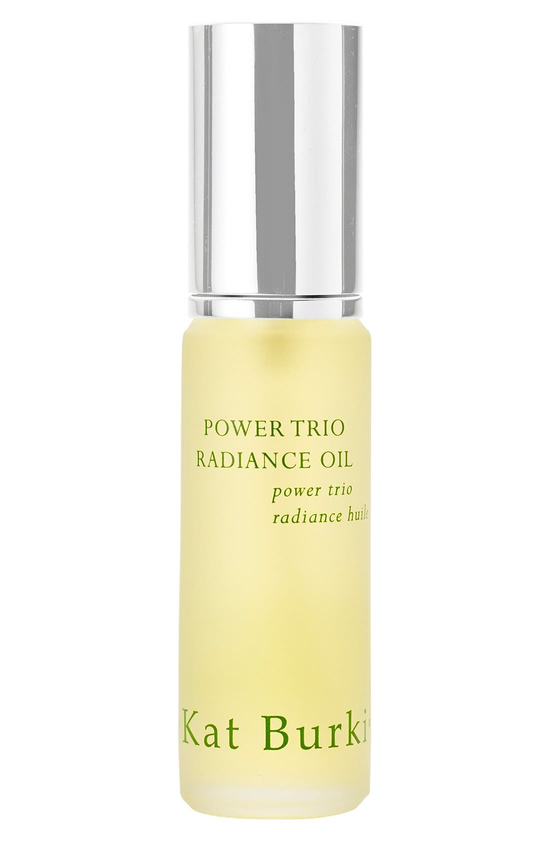 SPACE.NK.apothecary Kat Burki Power Trio Radiance Oil,                             Main thumbnail 1, color,                             NO COLOR