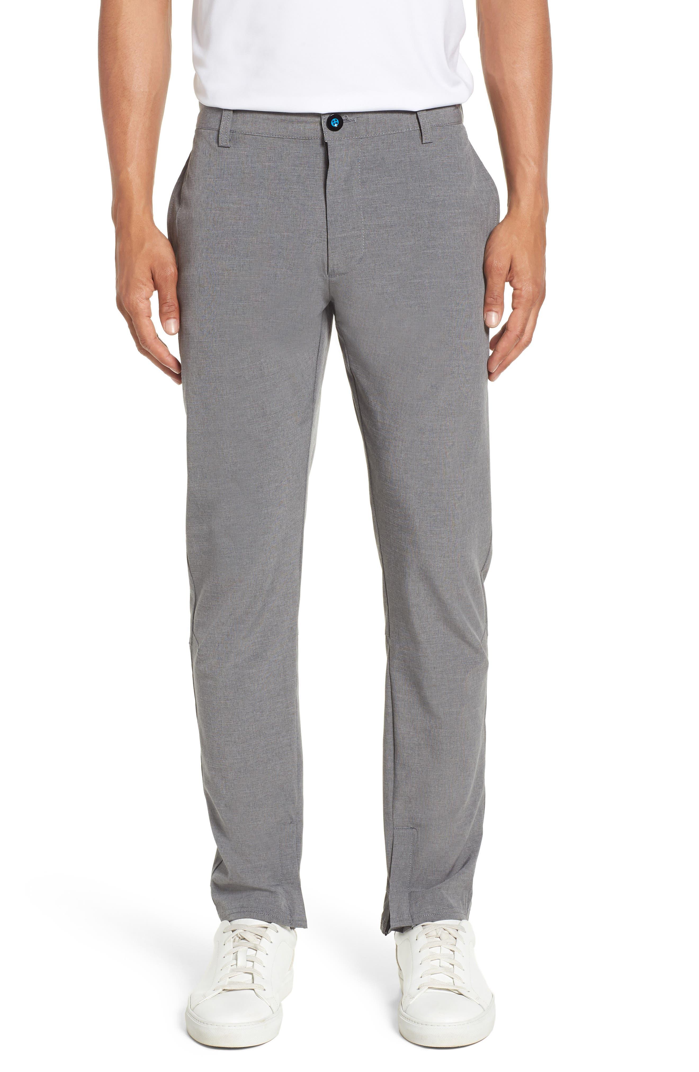 Gravity Athletic Fit Pants,                         Main,                         color, CHARCOAL