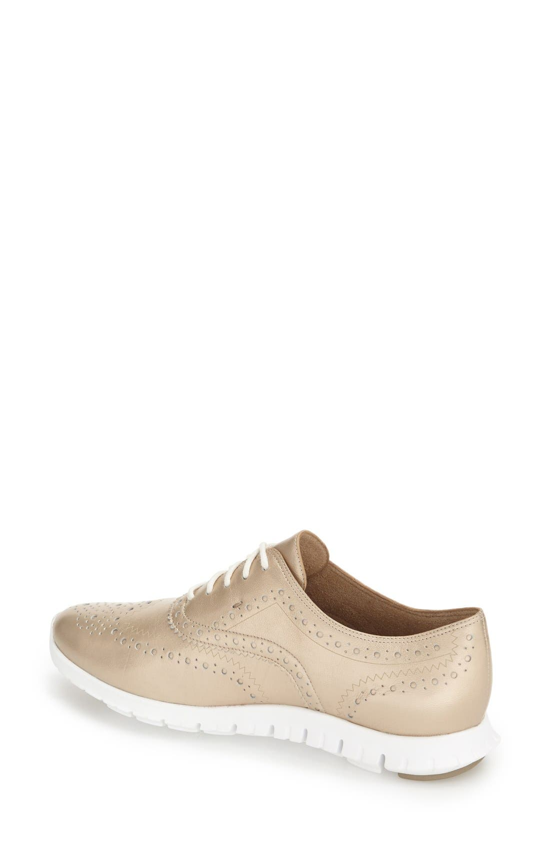 'ZeroGrand' Perforated Wingtip,                             Alternate thumbnail 60, color,