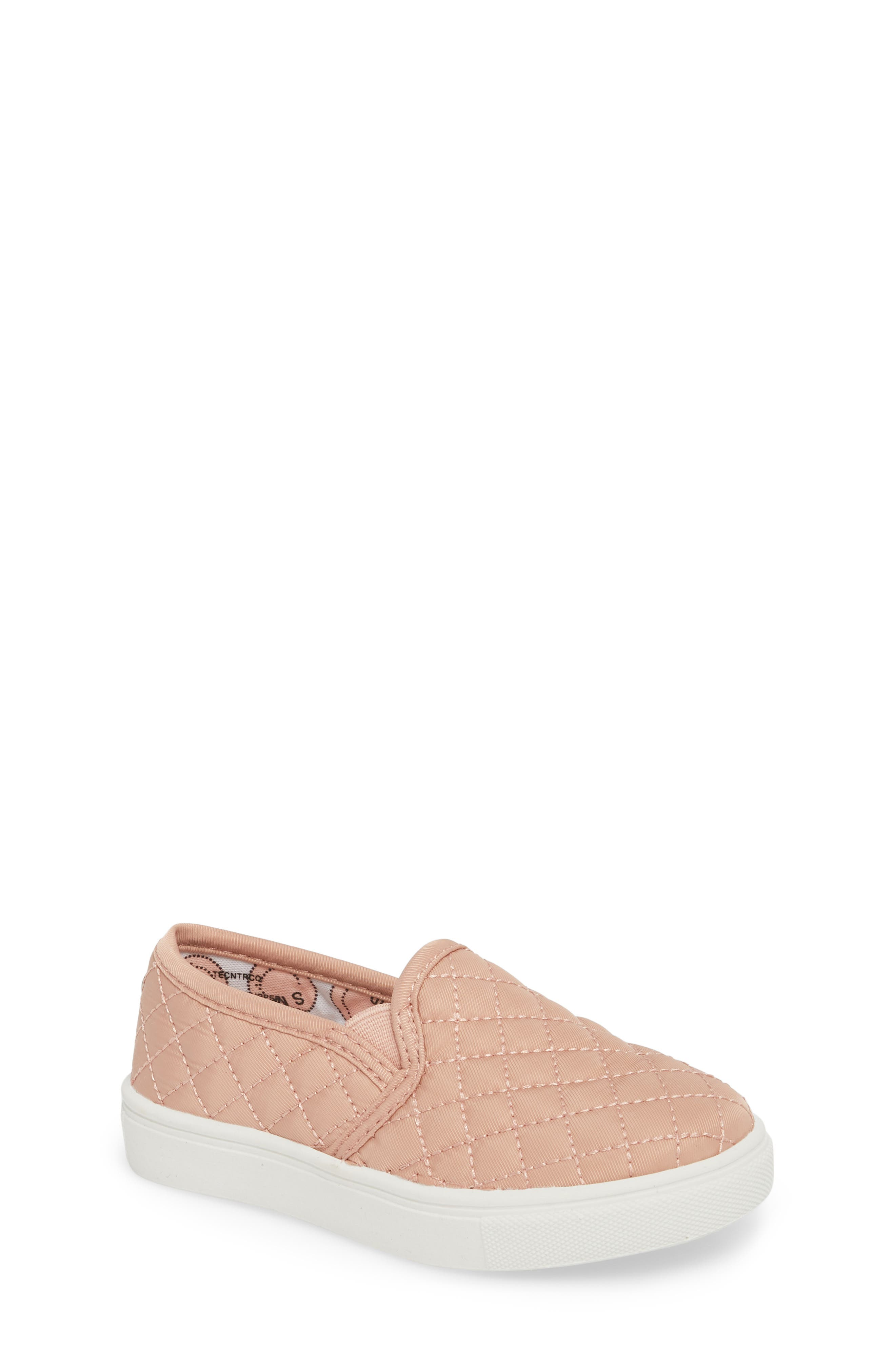 Tecntrc Quilted Slip-On Sneaker,                             Main thumbnail 1, color,                             BLUSH