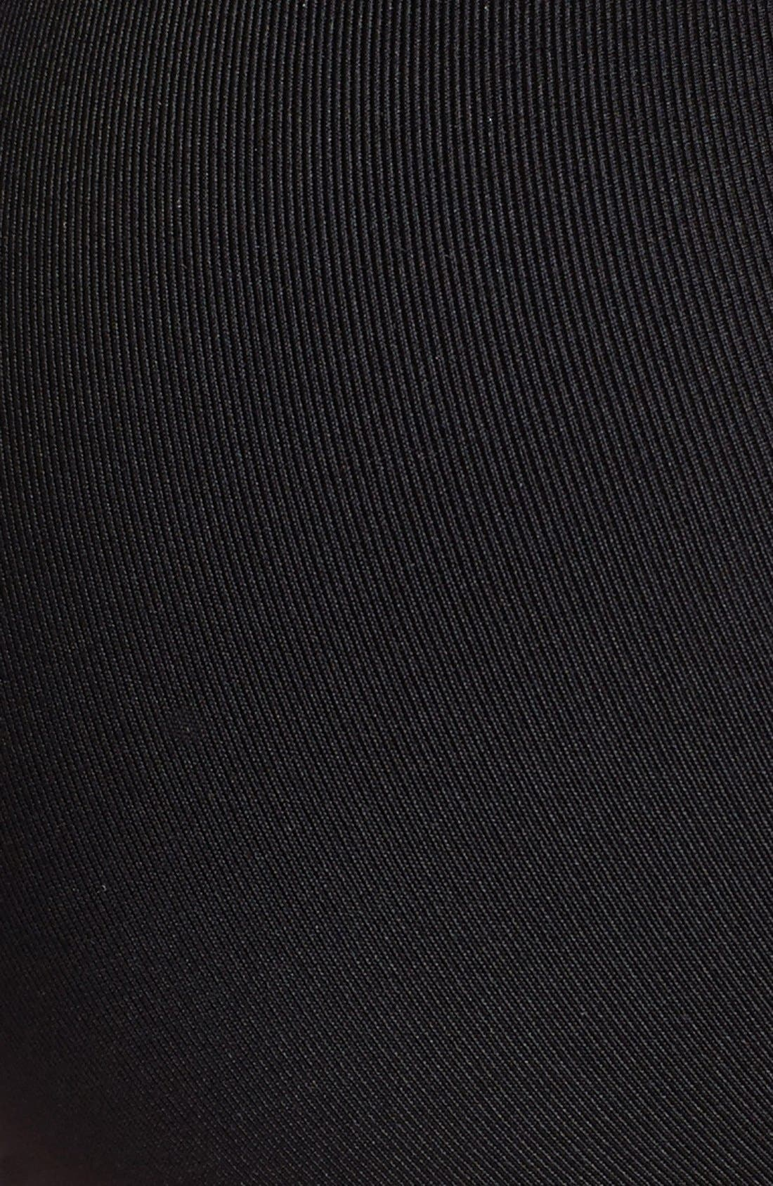 'Lara' Soft Cup Bra,                             Alternate thumbnail 5, color,                             BLACK