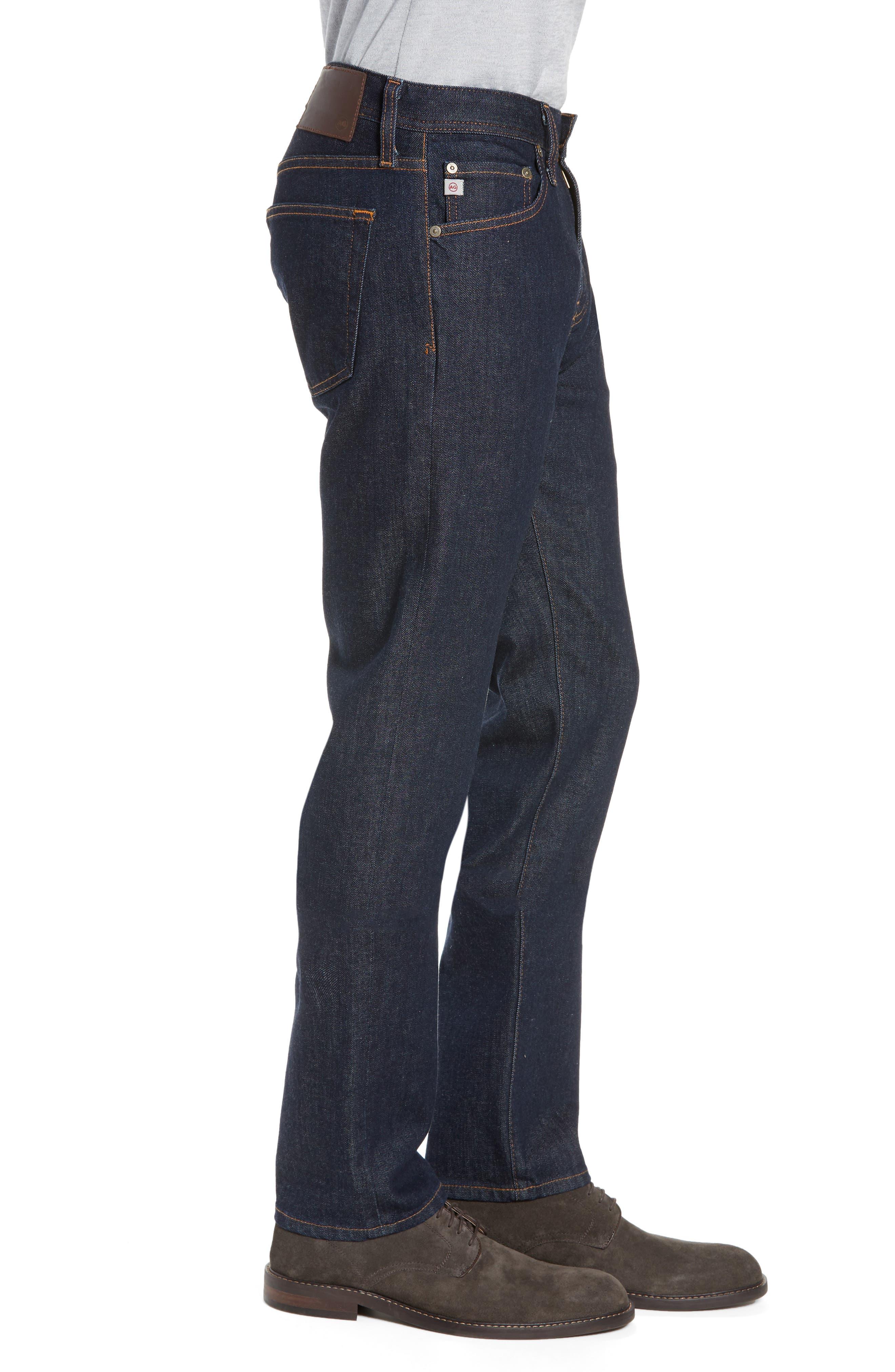 Tellis Slim Fit Jeans,                             Alternate thumbnail 3, color,                             PARTRIDGE