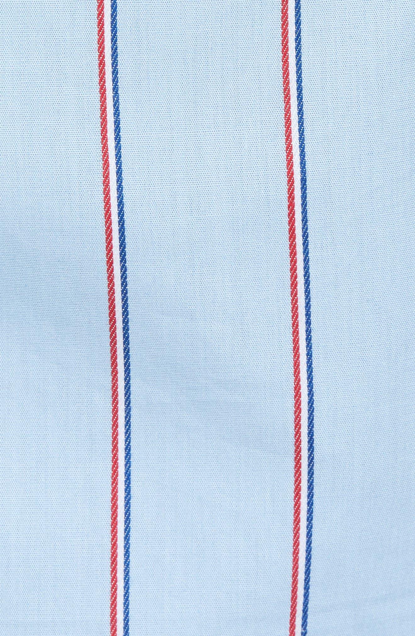 Cotton Sleep Shorts,                             Alternate thumbnail 5, color,                             OMPHALODES