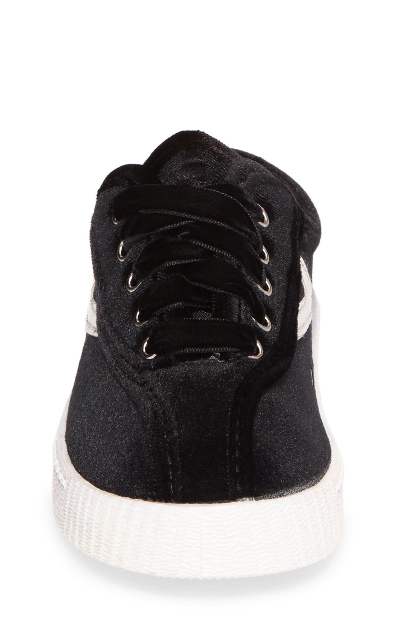 NYLite Velvet Sneaker,                             Alternate thumbnail 4, color,                             006