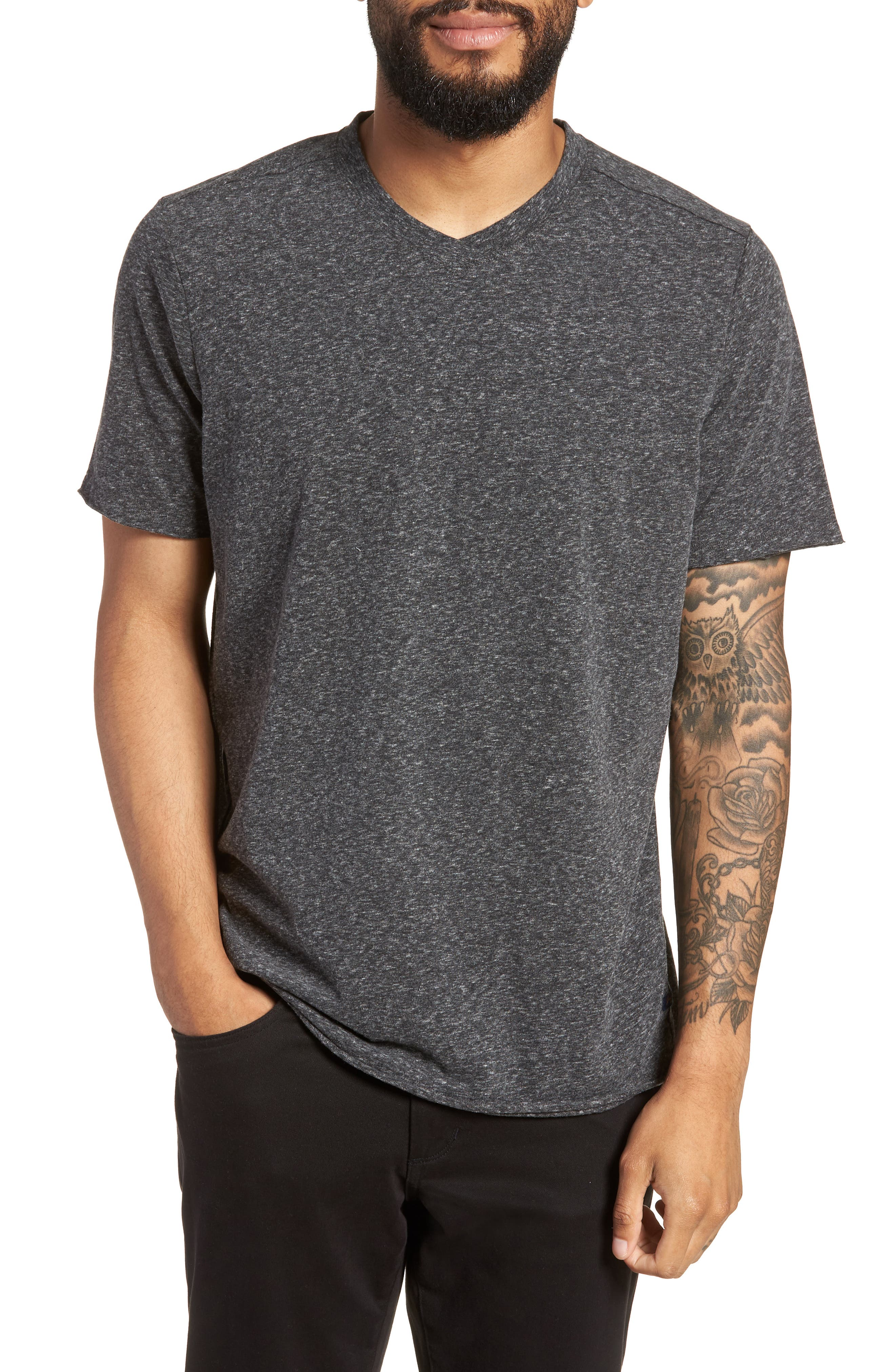 Slim Fit V-Neck T-Shirt,                         Main,                         color, 032