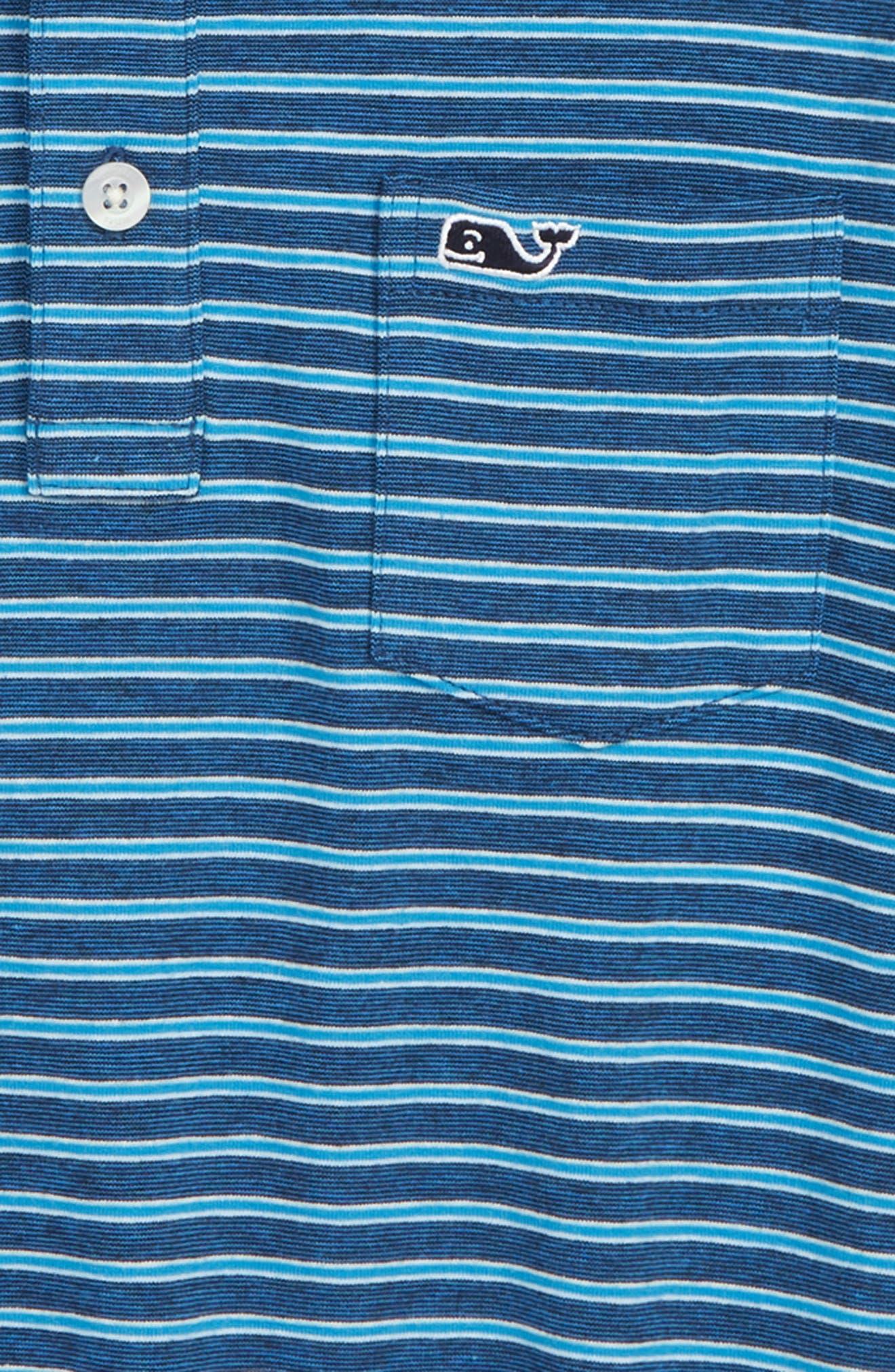 Edgartown Stripe Polo,                             Alternate thumbnail 2, color,                             410