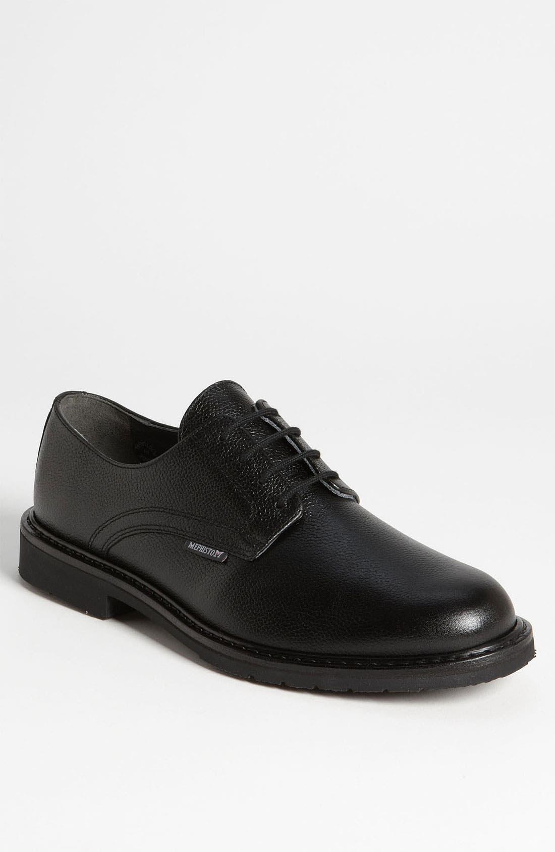 'Marlon' Derby,                         Main,                         color, BLACK PEBBLE GRAIN
