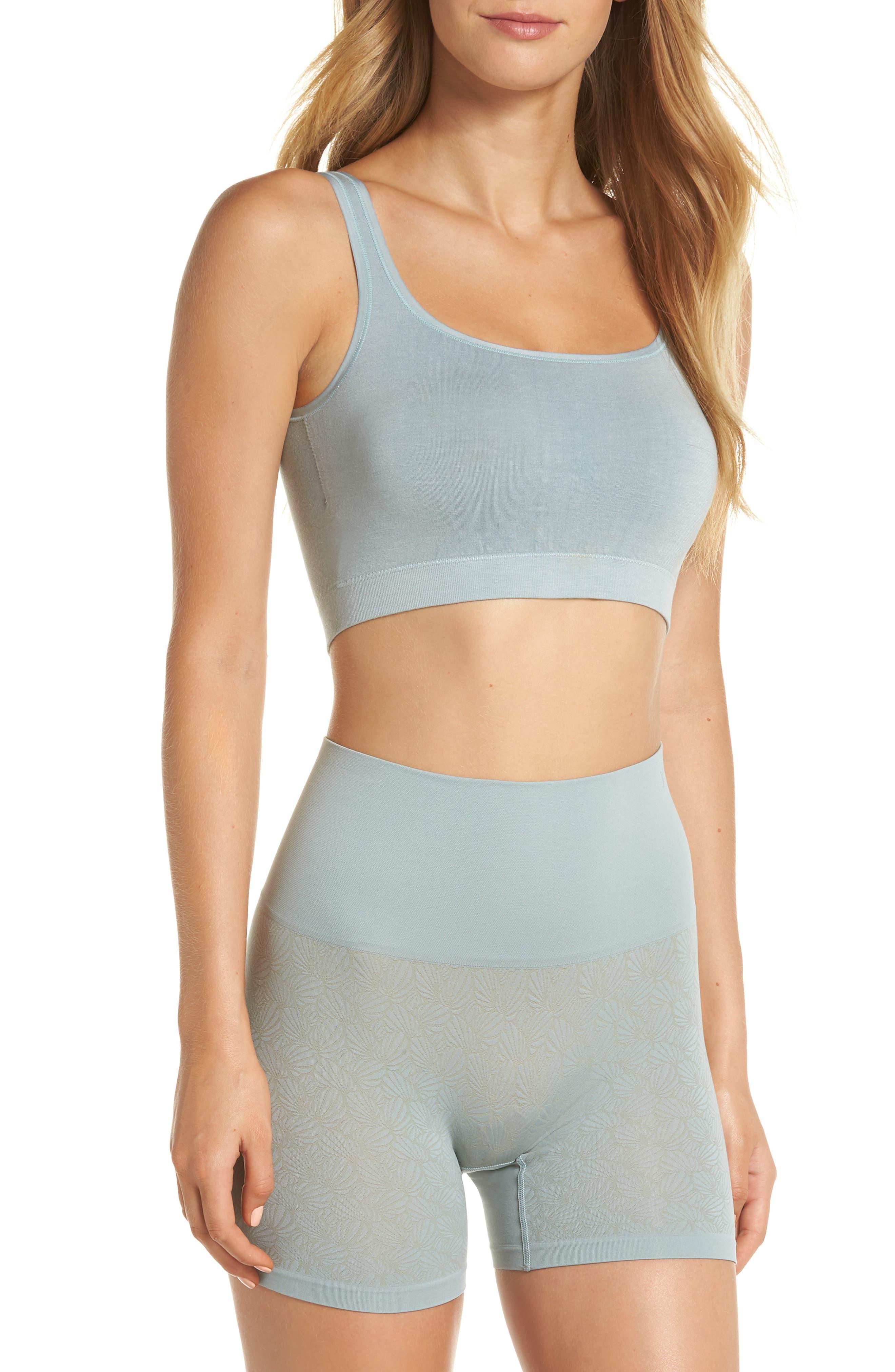 Ultralight Seamless Shaping Shorts,                             Alternate thumbnail 7, color,                             SILVER BLUE