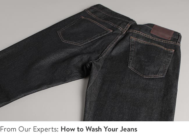 How to wash your jeans video.