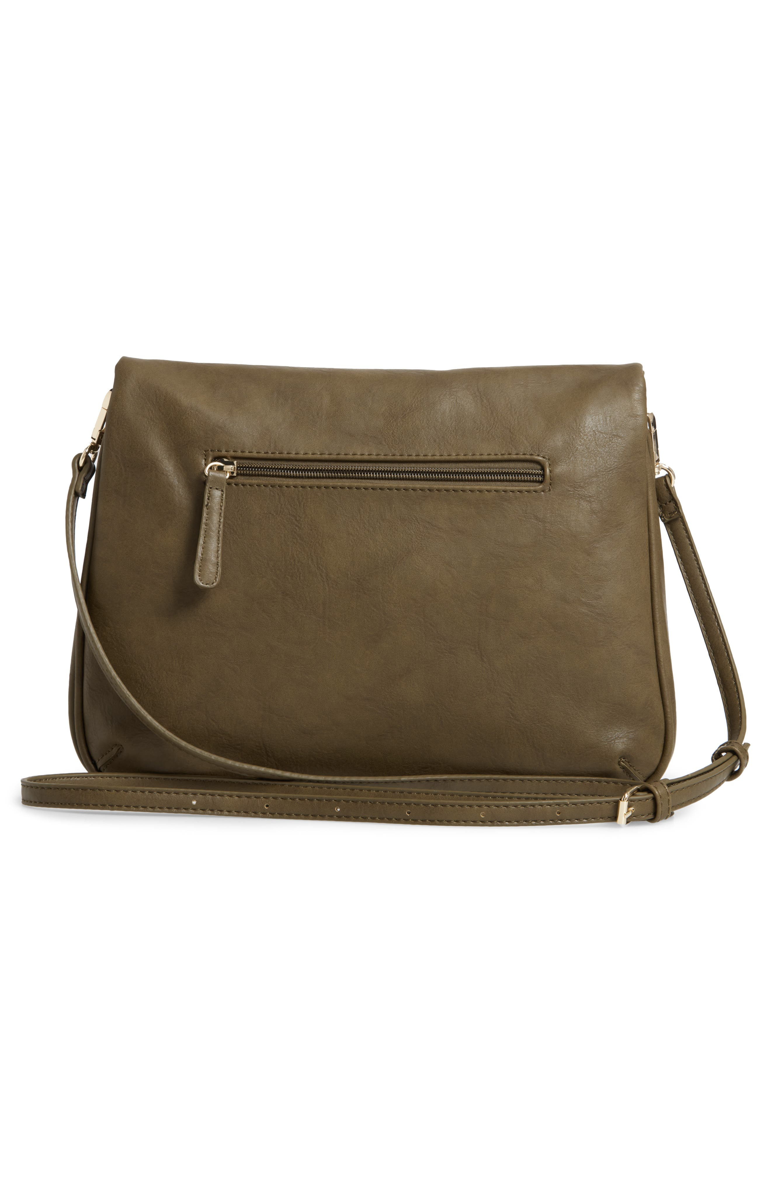 Foldover Crossbody Bag,                             Alternate thumbnail 3, color,                             320