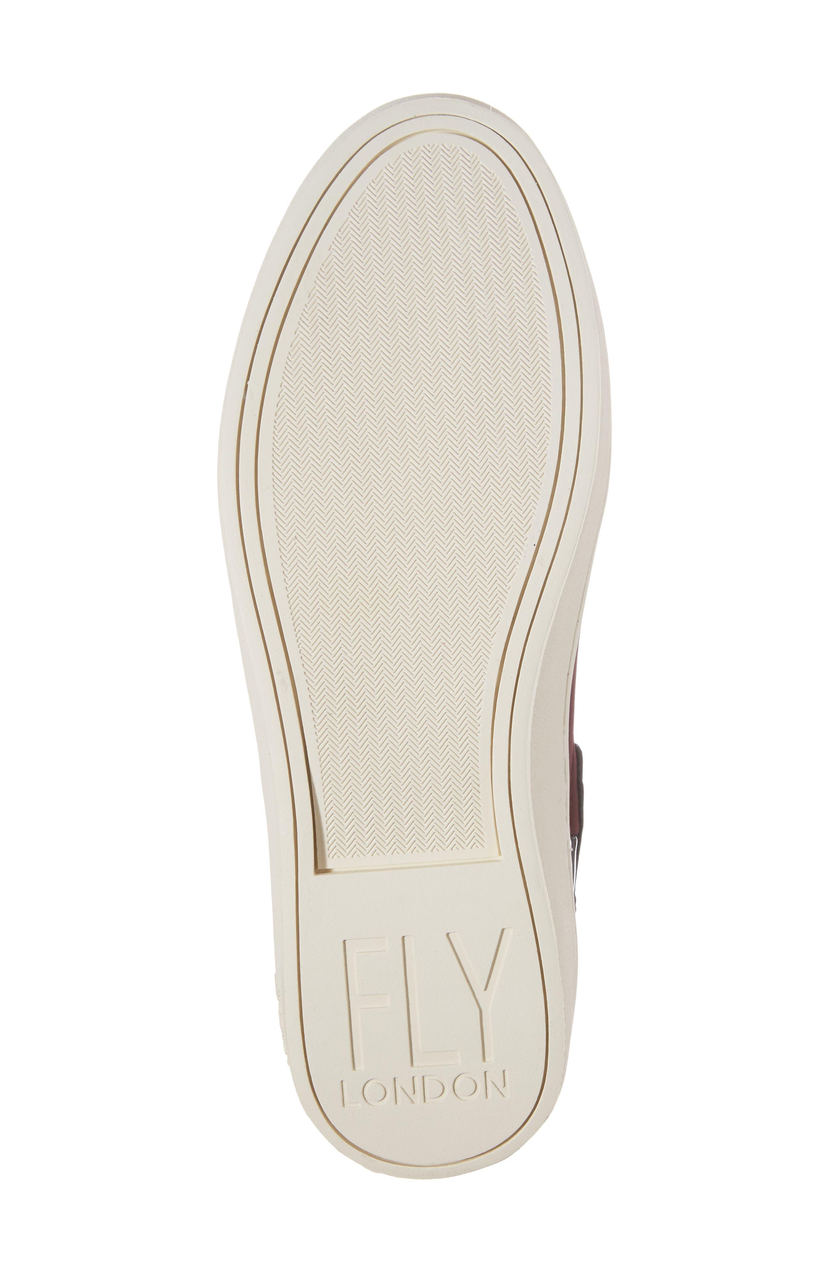 'Mabs' Slip-On Platform Sneaker,                             Alternate thumbnail 6, color,                             003