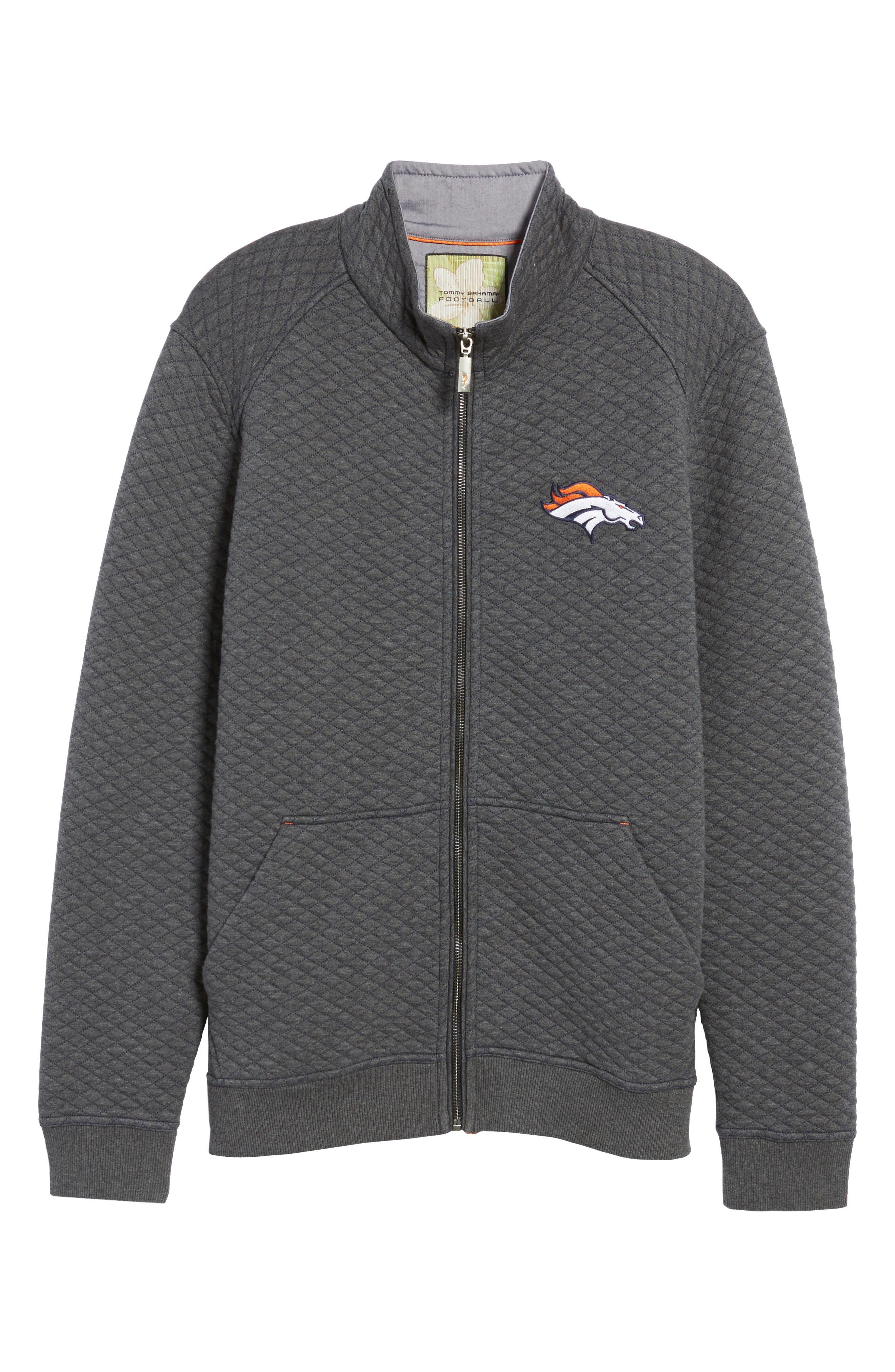 NFL Quiltessential Full Zip Sweatshirt,                             Alternate thumbnail 161, color,
