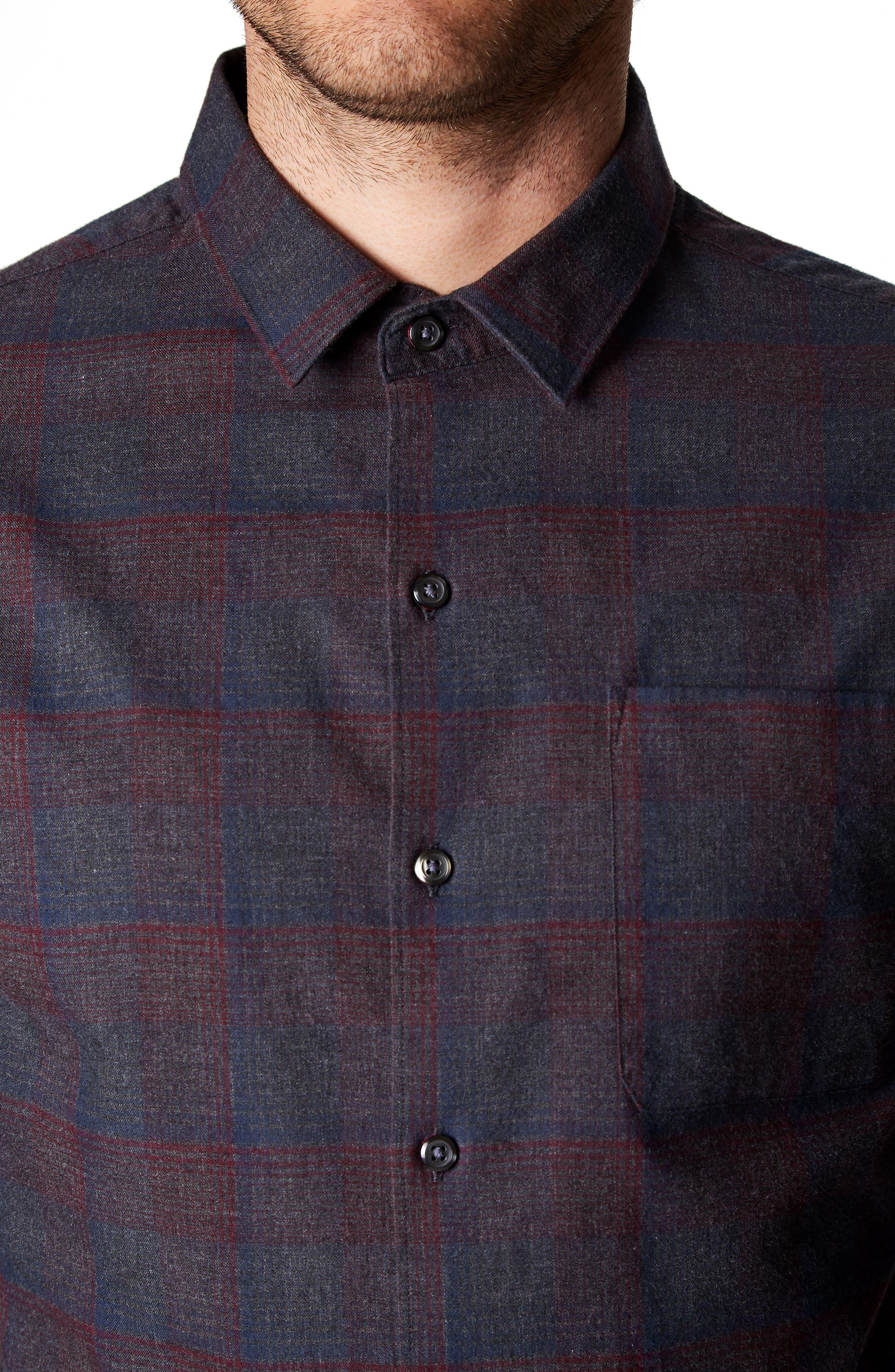 Feel So Good Plaid Shirt,                             Alternate thumbnail 4, color,                             020