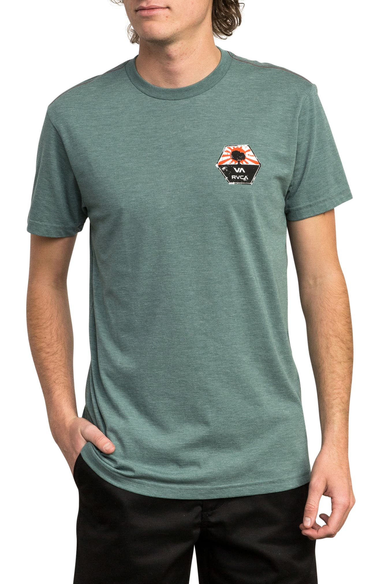Bruce Irons Graphic T-Shirt,                         Main,                         color, PINE TREE