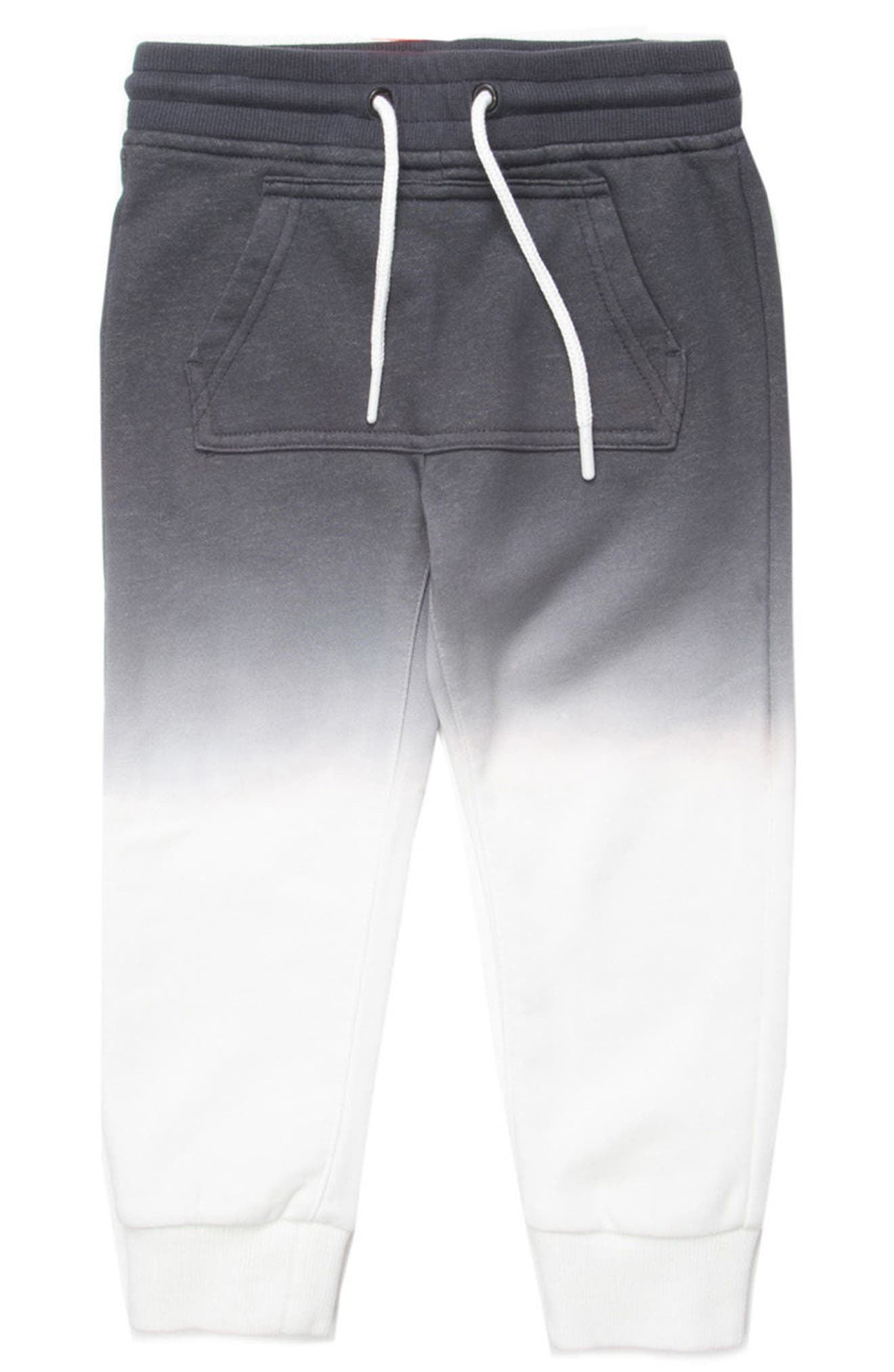 Gino Ombré Jogger Pants,                         Main,                         color, BLACK