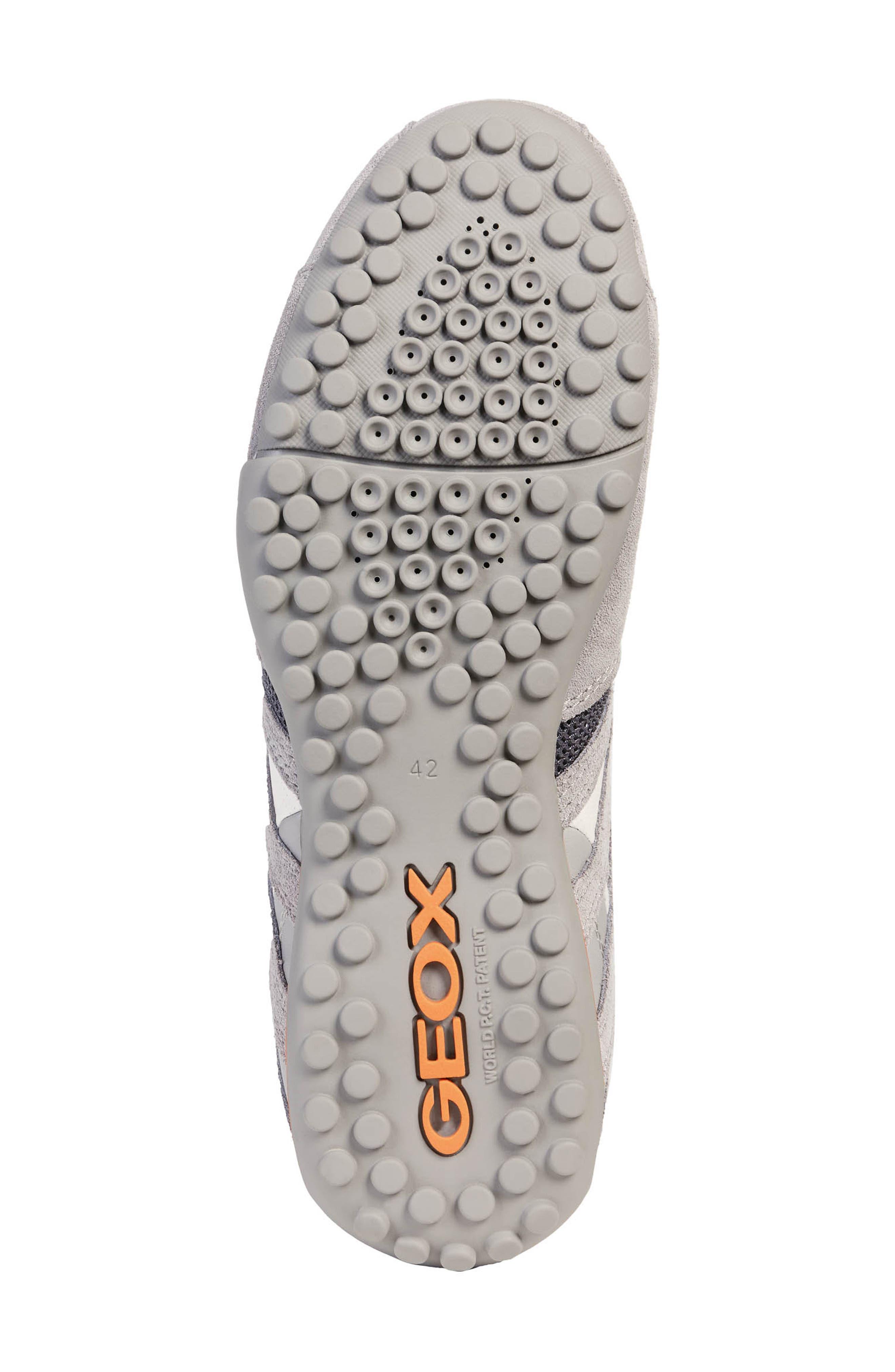 GEOX,                             'Uomo Snake 94' Sneaker,                             Alternate thumbnail 5, color,                             GREY