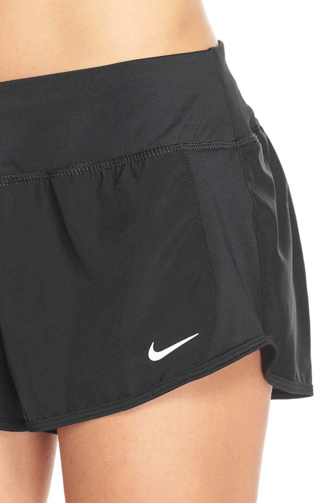 NIKE,                             'Crew' Dri-FIT Running Shorts,                             Alternate thumbnail 3, color,                             001