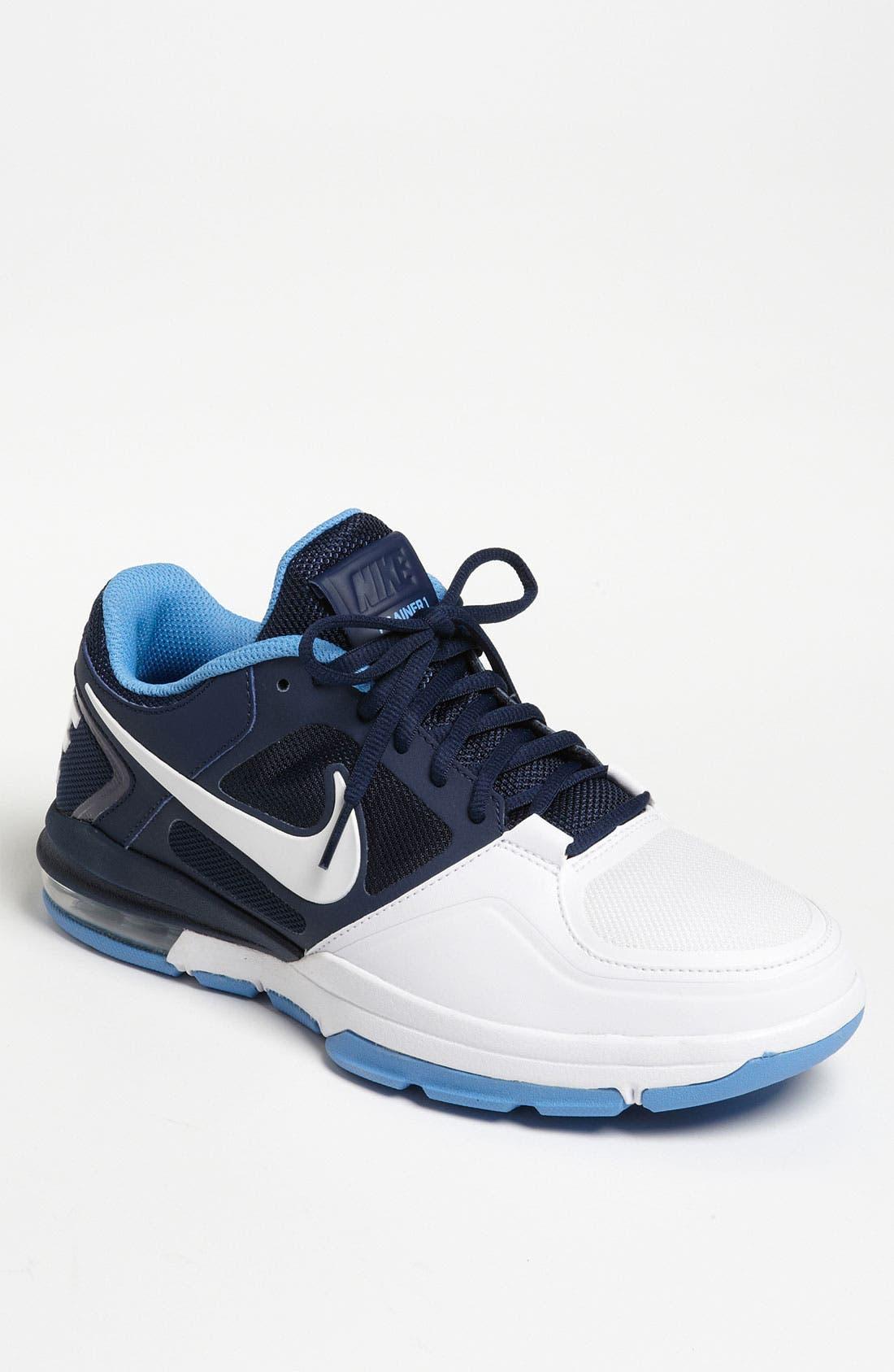 NIKE,                             'Trainer 1.3 Low' Training Shoe,                             Main thumbnail 1, color,                             414