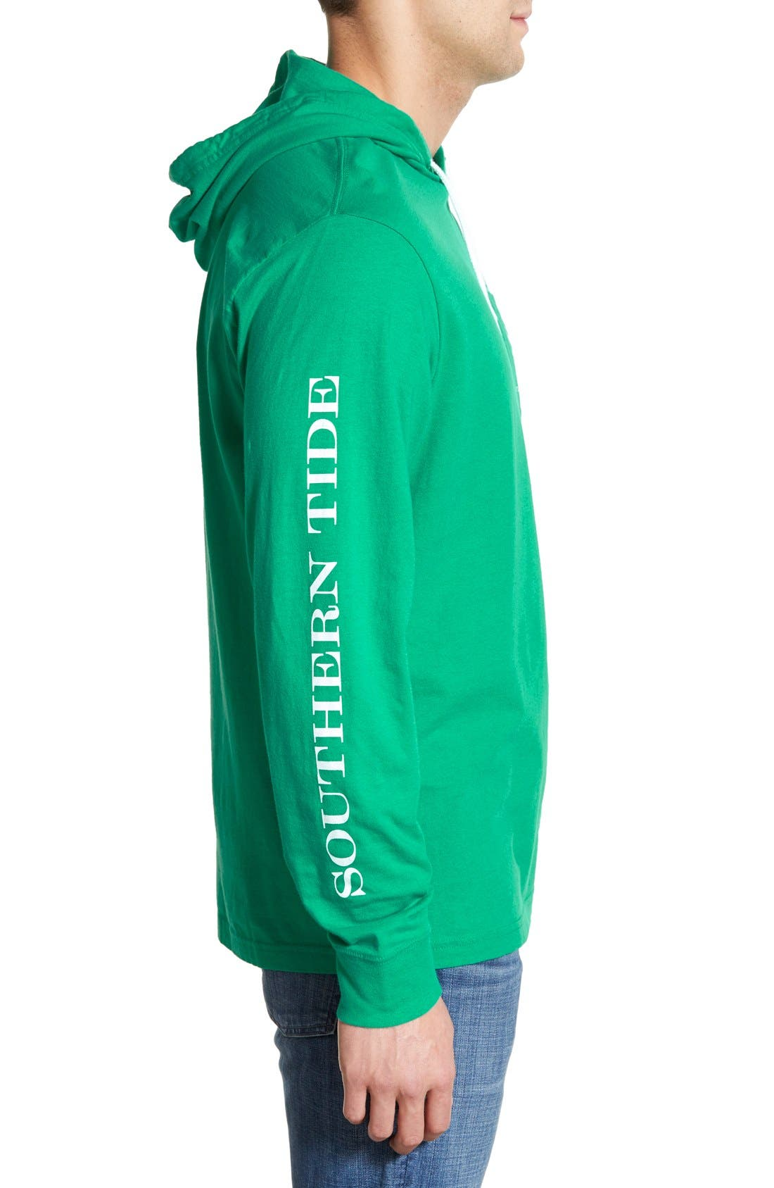 Graphic Hooded Long Sleeve T-Shirt,                             Alternate thumbnail 23, color,